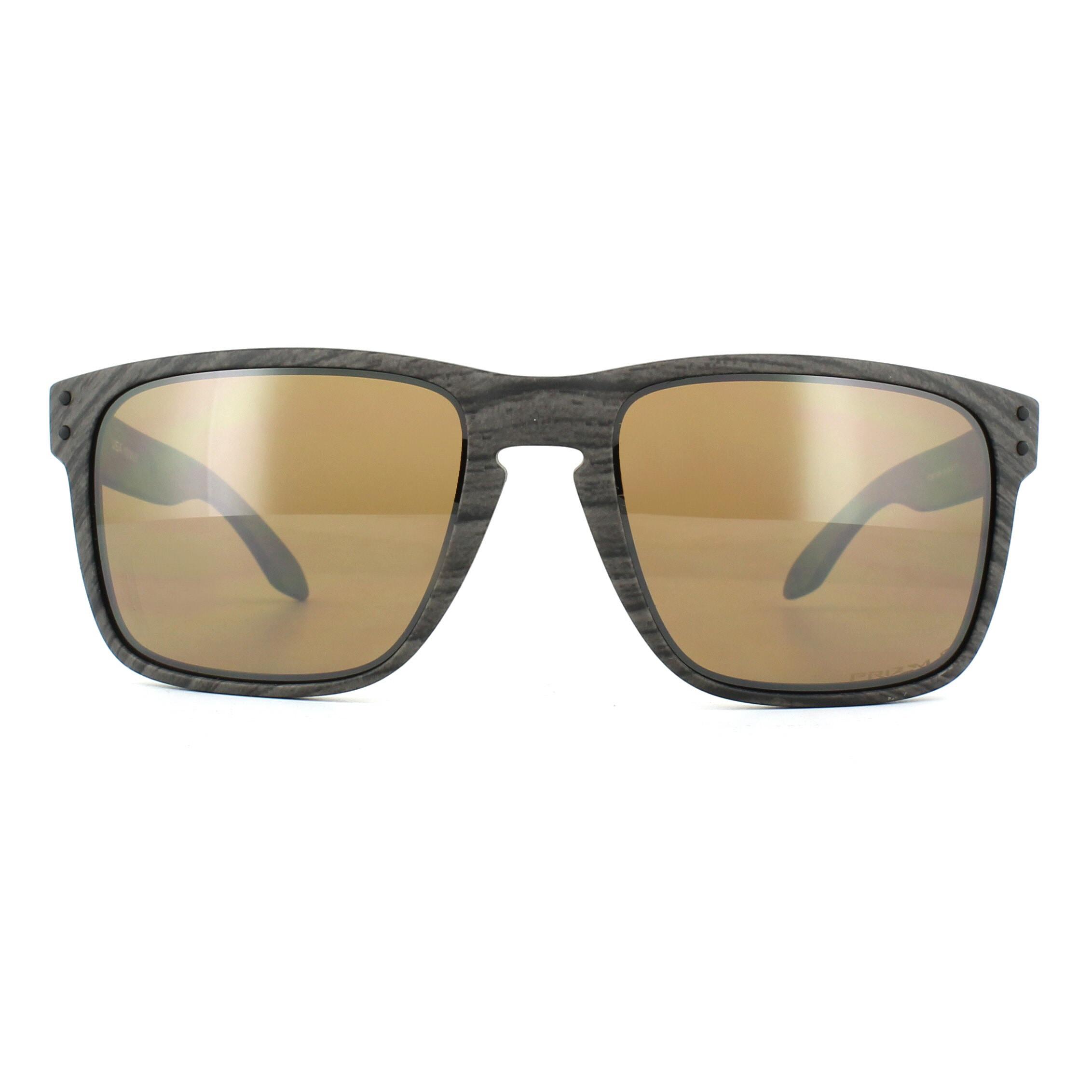d8d25de39c Sentinel Oakley Sunglasses Holbrook XL OO9417-06 Woodgrain Prizm Tungsten  Polarized
