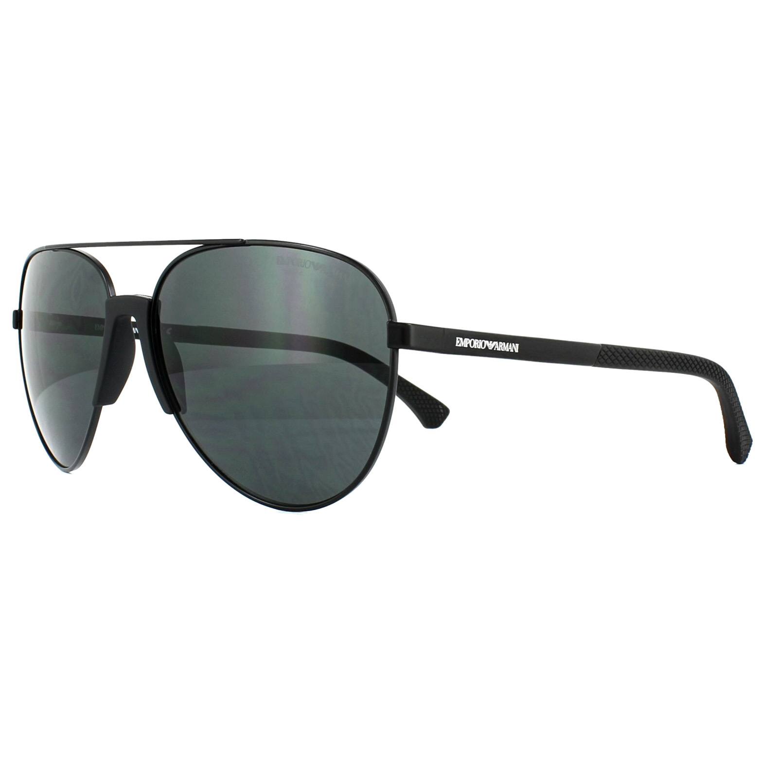 7a99f0336aaf Emporio Armani Sunglasses 2059 320387 Matt Black Grey 8053672810974 ...