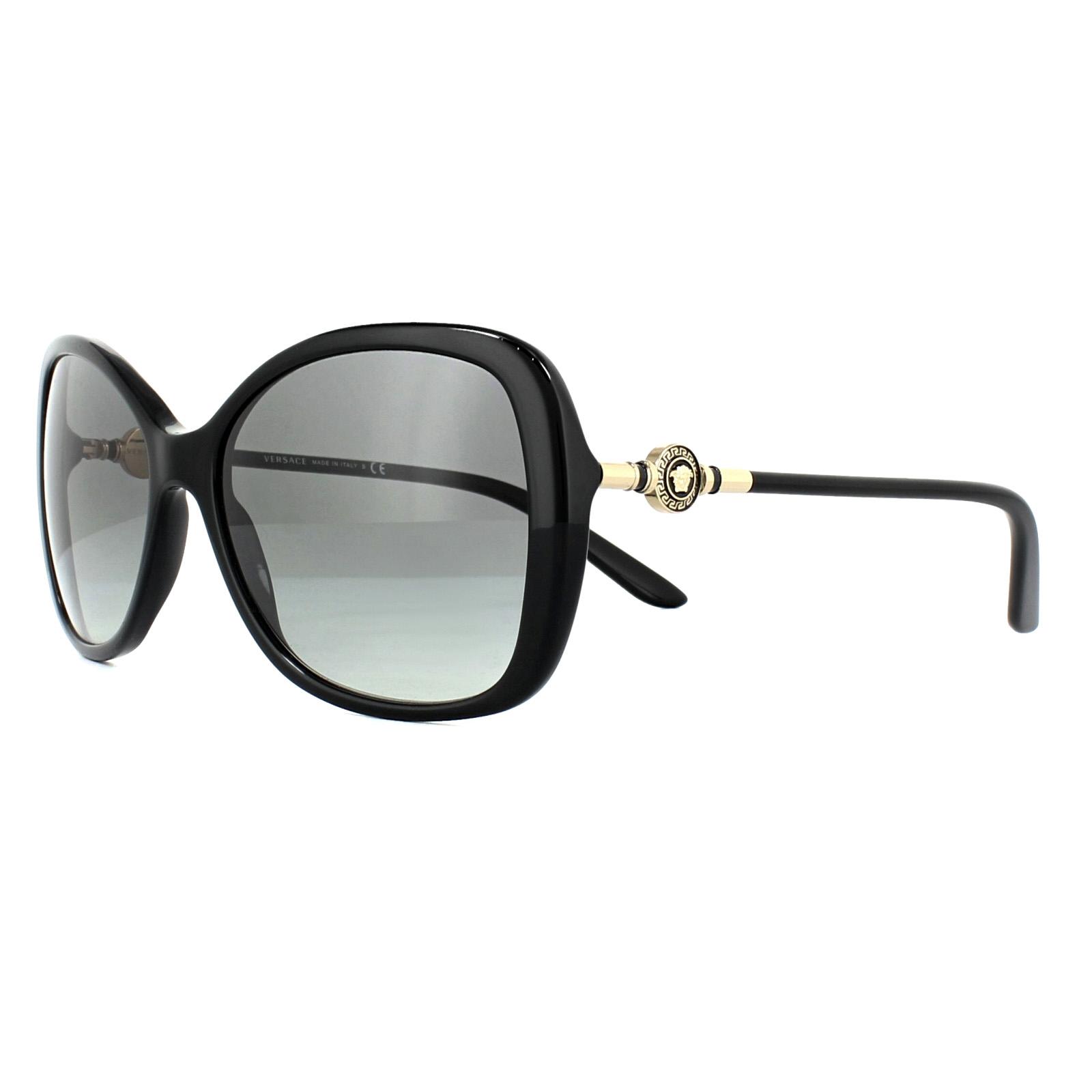 6edc192f28f11 Sentinel Versace Sunglasses VE4303 GB1 11 Black Grey Gradient