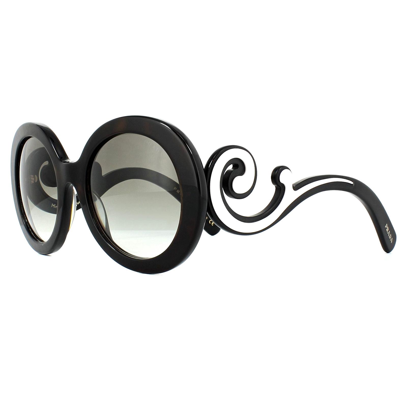 4643d855fd Sentinel Prada Sunglasses 08TS 2AU0A7 Havana Grey Gradient