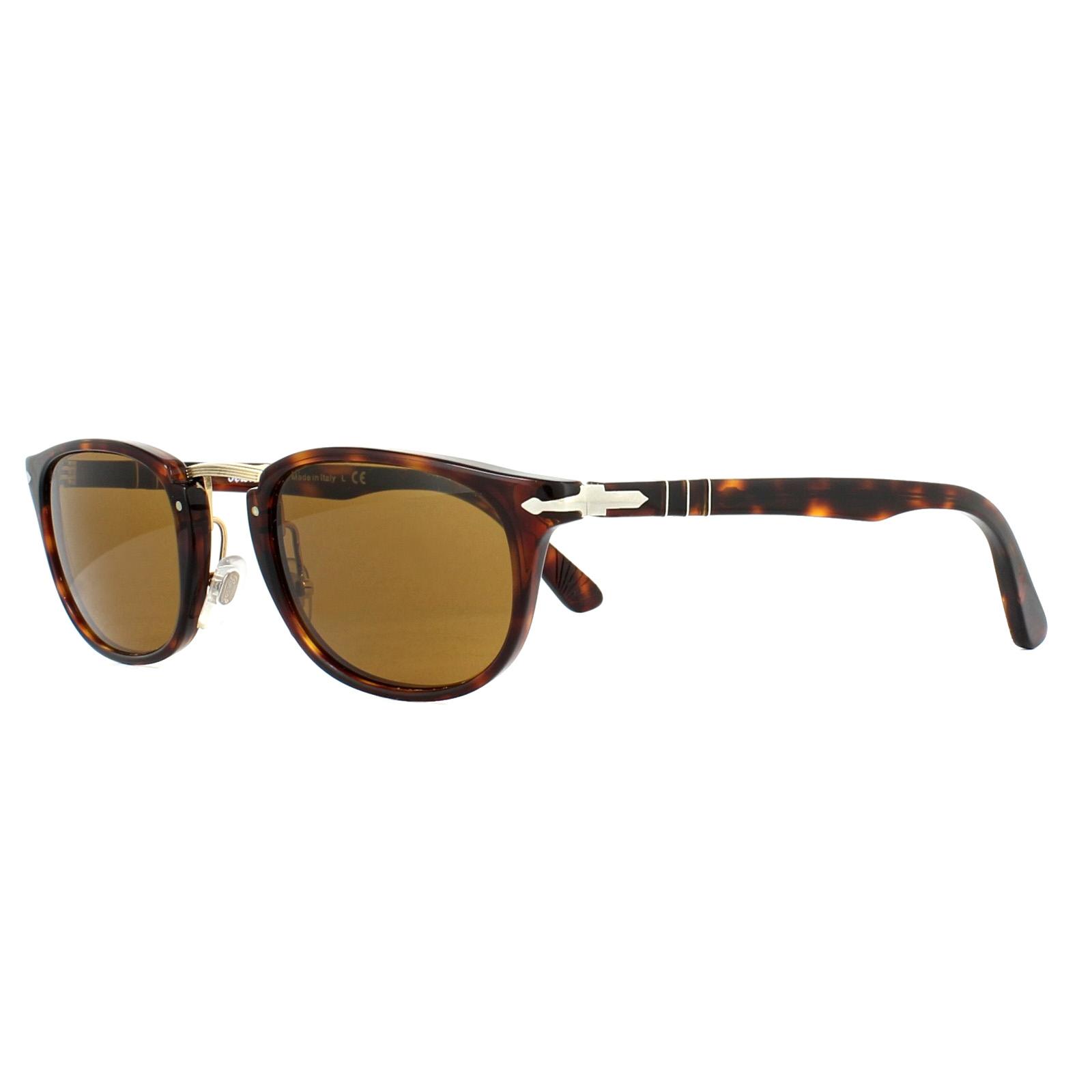 ba699a33145 Persol Sunglasses 3127S 24 33 Havana Brown 8053672472684