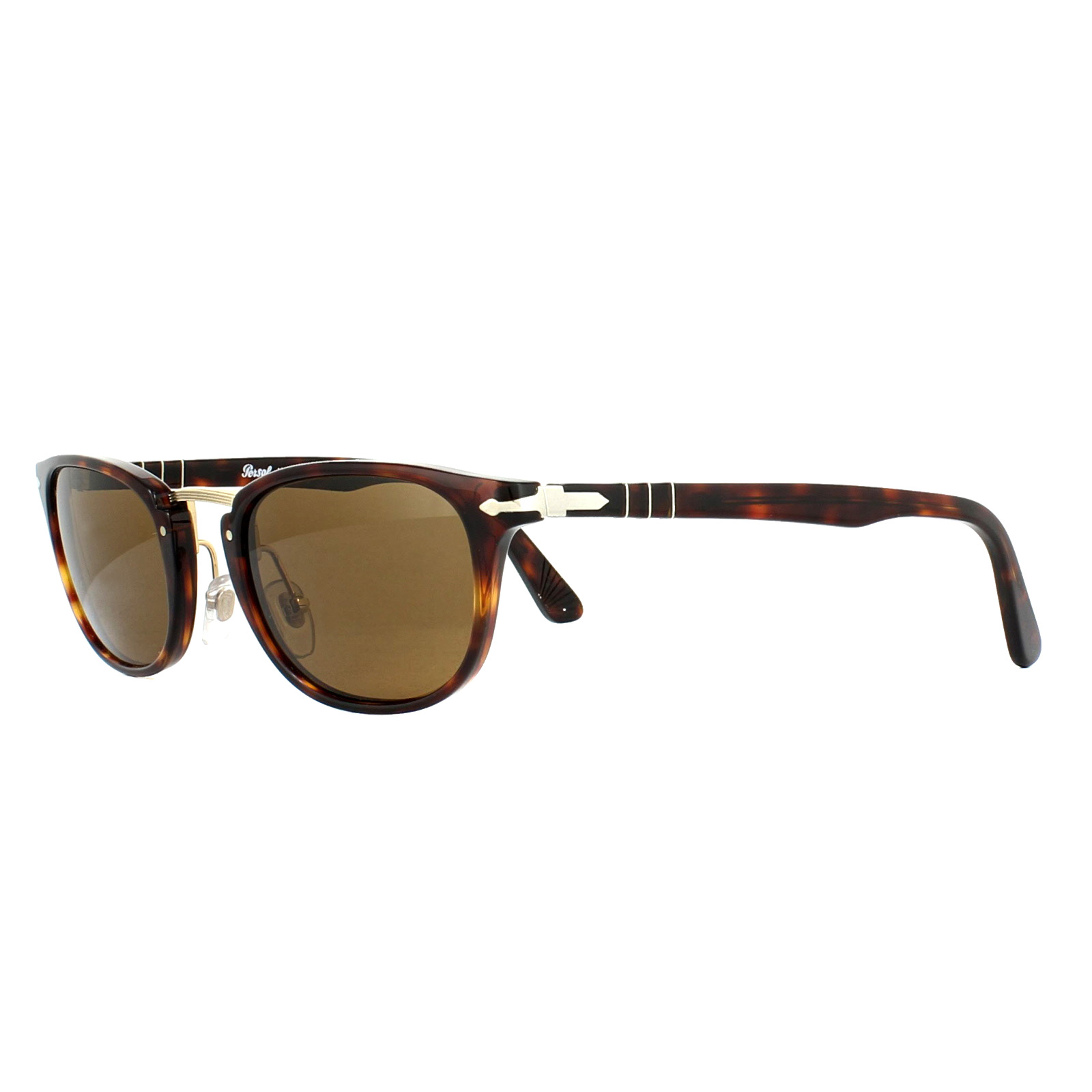 e7cb1ac28756d Persol Sunglasses 3127S 24 57 Havana Brown Polarized 8053672472769 ...