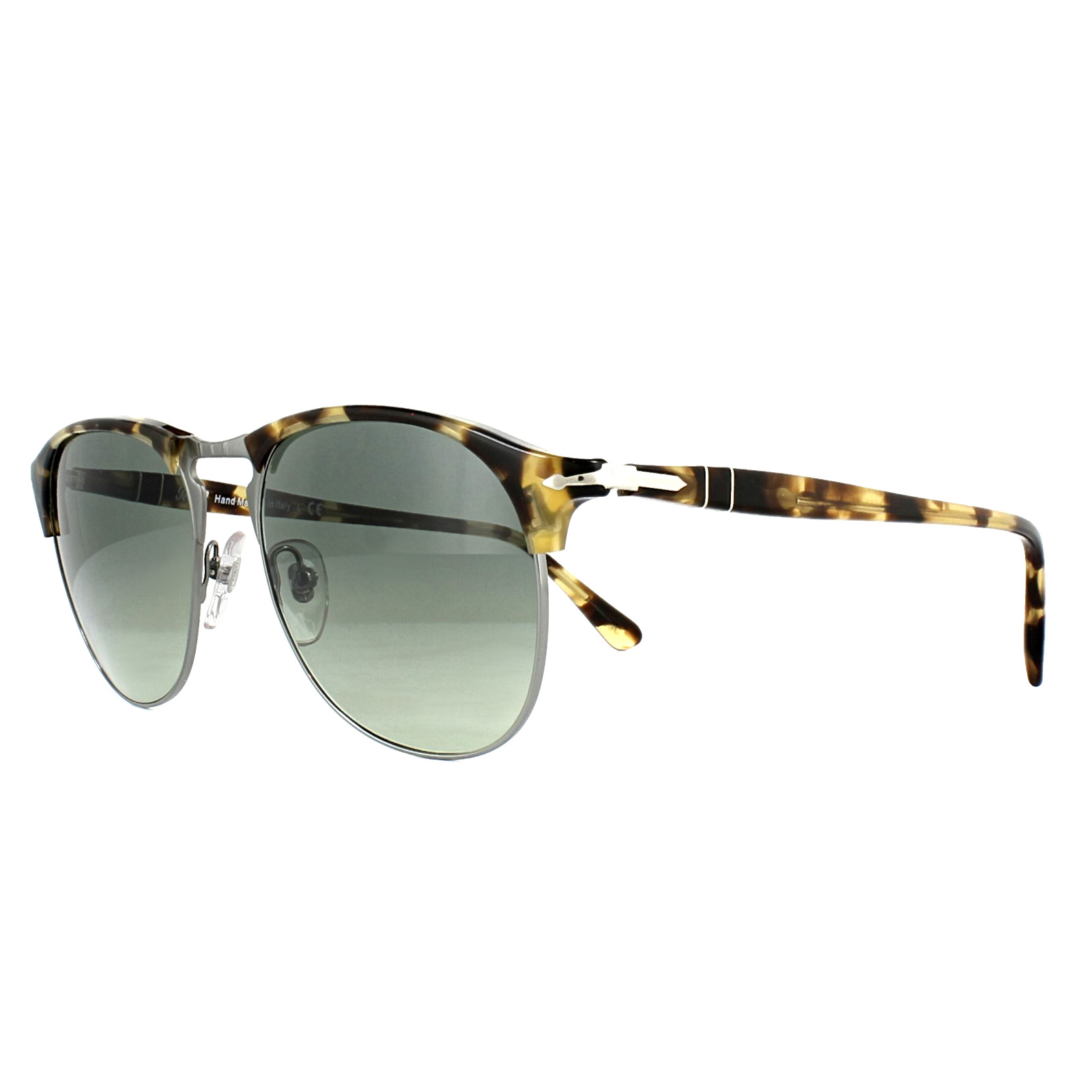 e7a050c9dbfb1 Sentinel Persol Sunglasses PO8649 105671 Brown Beige Tortoise Grey Gradient