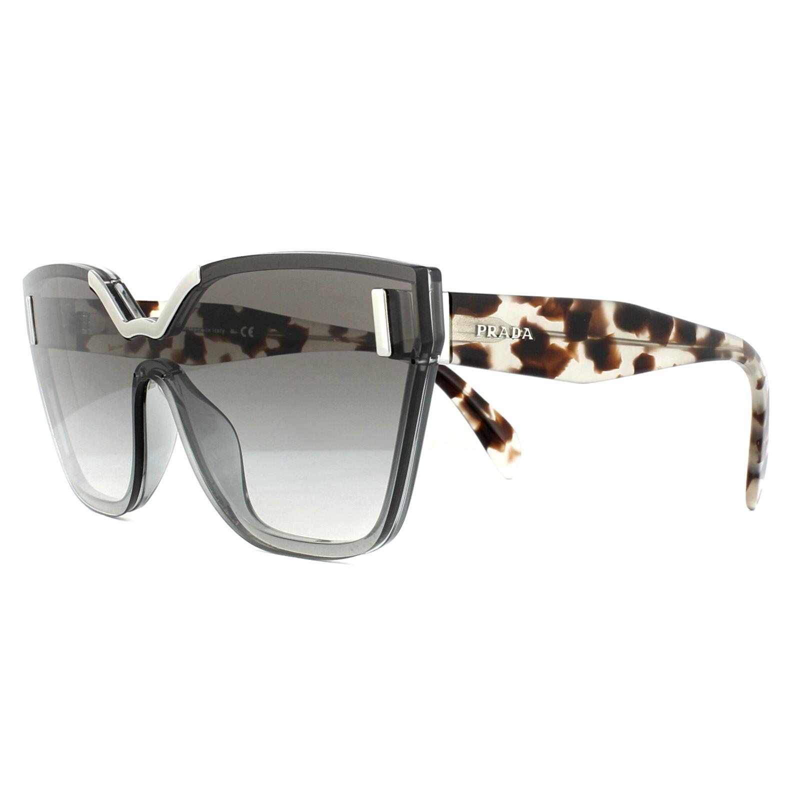 01a26d42bfa Prada Sunglasses 16TS VIP0A7 Light Grey Grey Gradient 8053672773064 ...