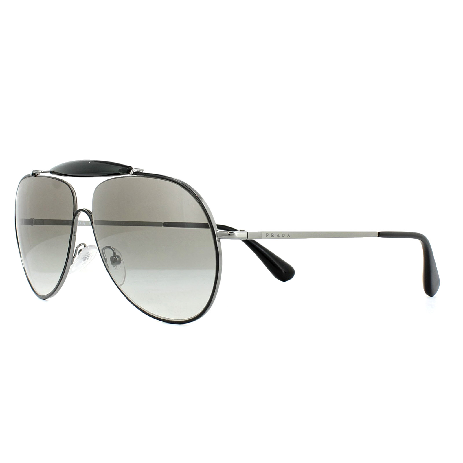 c86a10d624b8a ... norway sentinel prada sunglasses 56ss 7ax5o0 top black gunmetal grey  gradient a62a9 08a0d