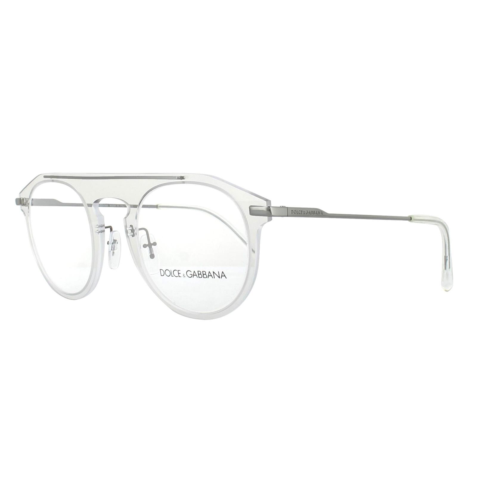 a03b006e298 Sentinel Dolce   Gabbana Glasses Frames DG 1291 04 Clear 48mm Mens