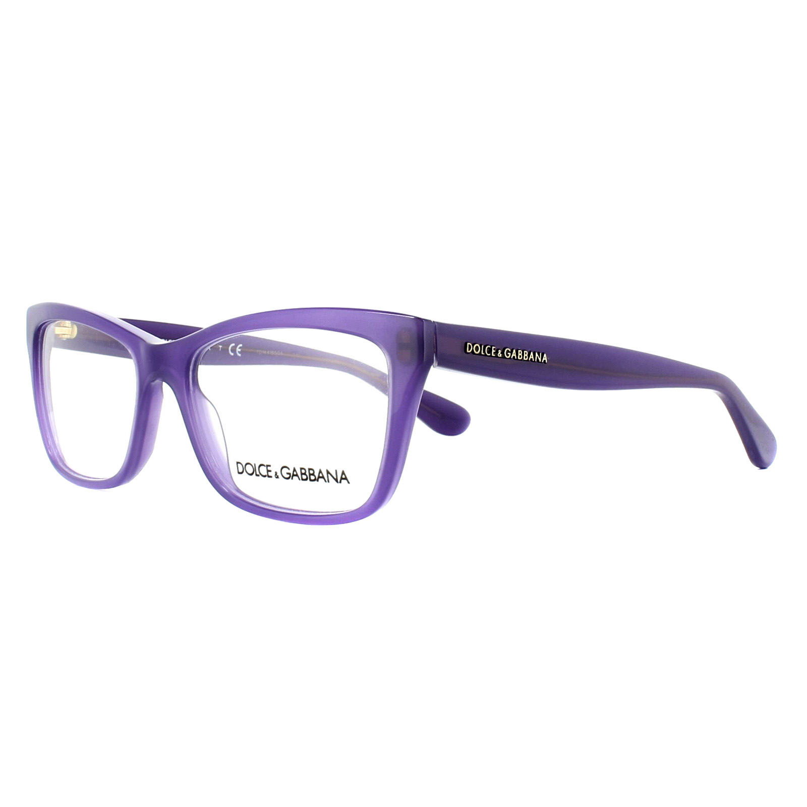 107994b371 Sentinel Dolce   Gabbana Glasses Frames DG 3215 2914 Opal Violet 52mm Womens