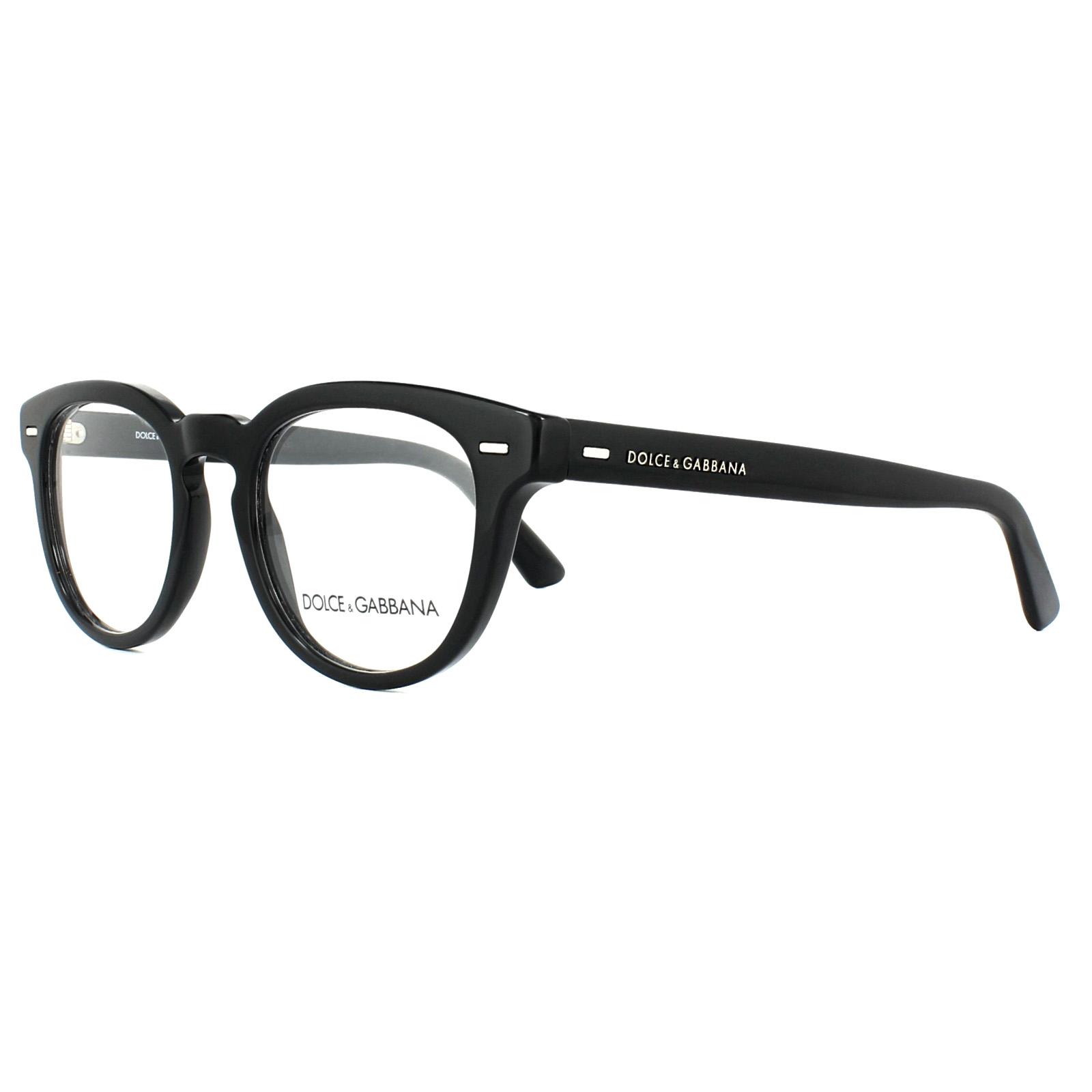 f27e59e7cfe Sentinel Dolce   Gabbana Glasses Frames DG 3225 501 Black 48mm Mens