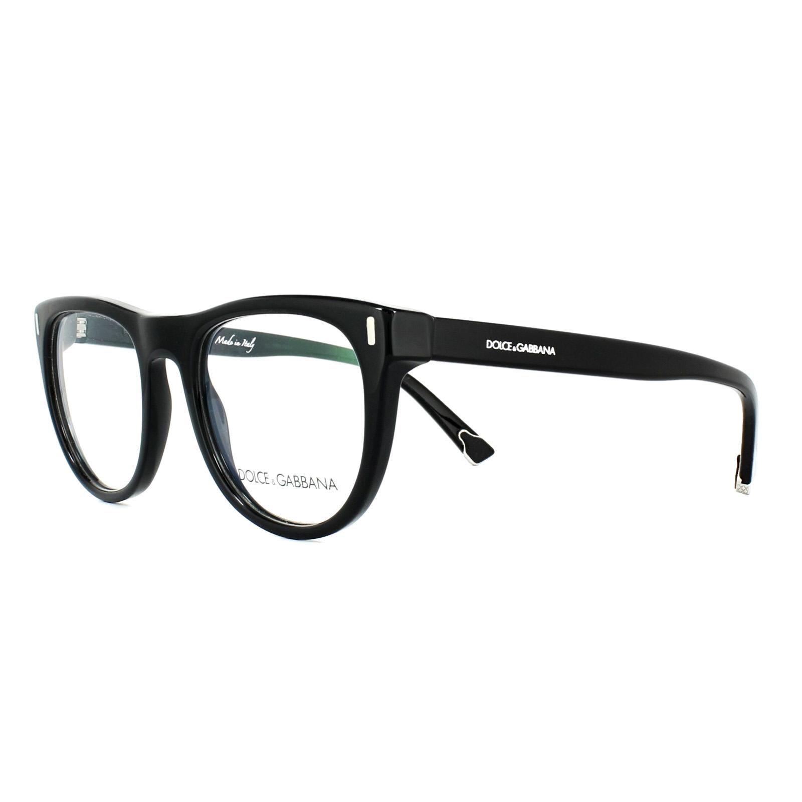 a8b666949b8d Sentinel Dolce & Gabbana Glasses Frames DG 3248 501 Black 52mm Mens