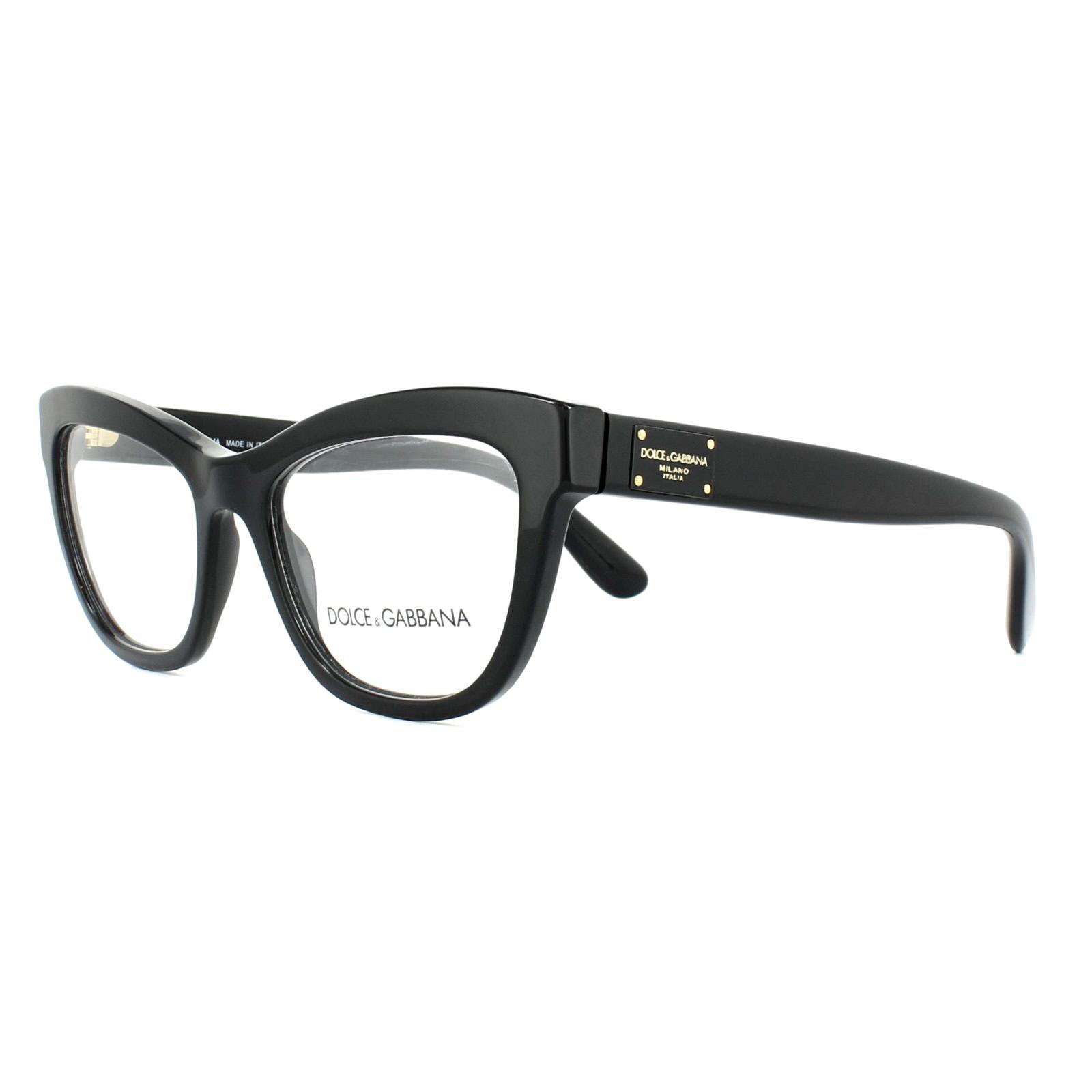 3197968461b0 Sentinel Dolce   Gabbana Glasses Frames DG 3253 501 Black 51mm Womens
