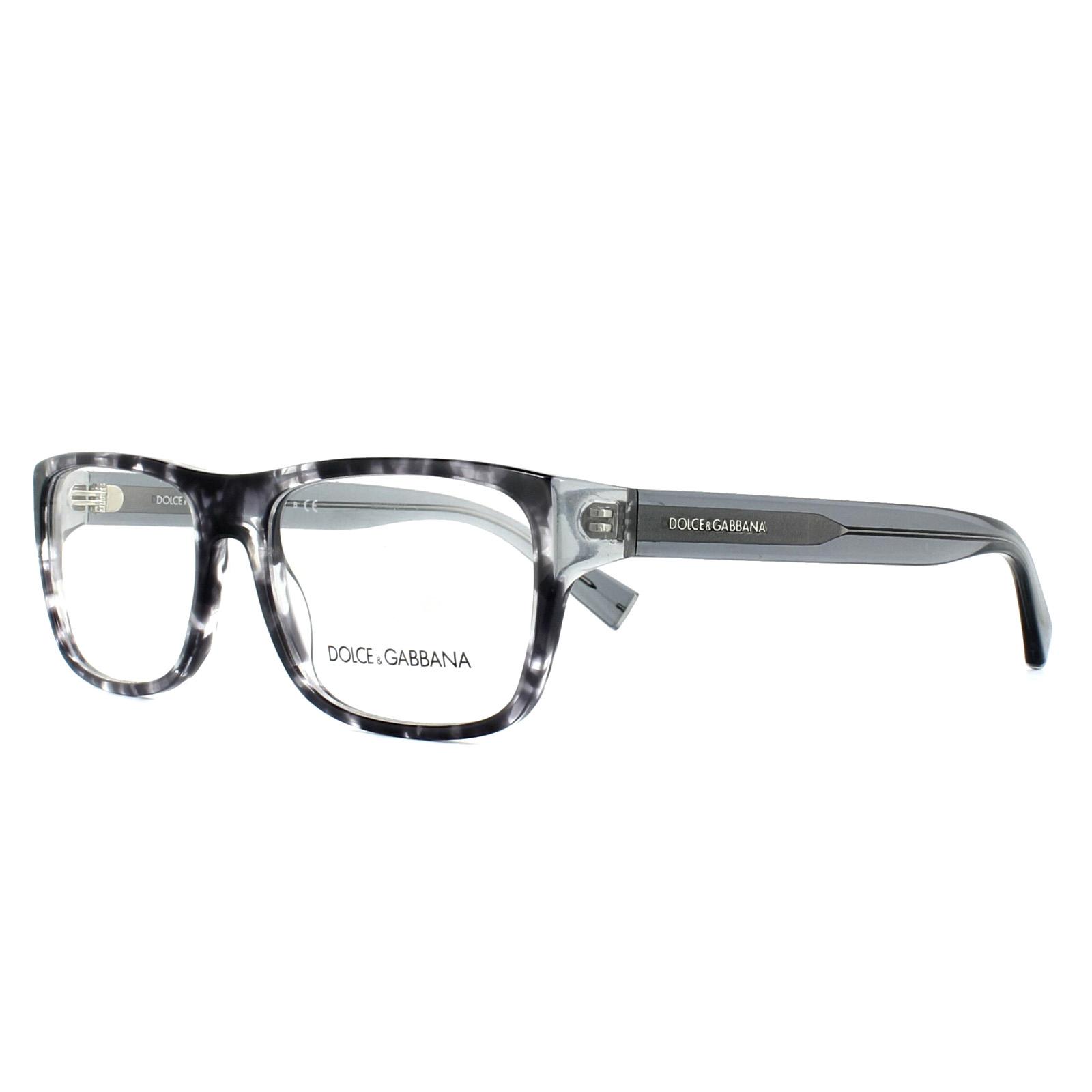 390e83d7280 Sentinel Dolce   Gabbana Glasses Frames DG 3276 3142 Havana Black Clear 54mm  Mens