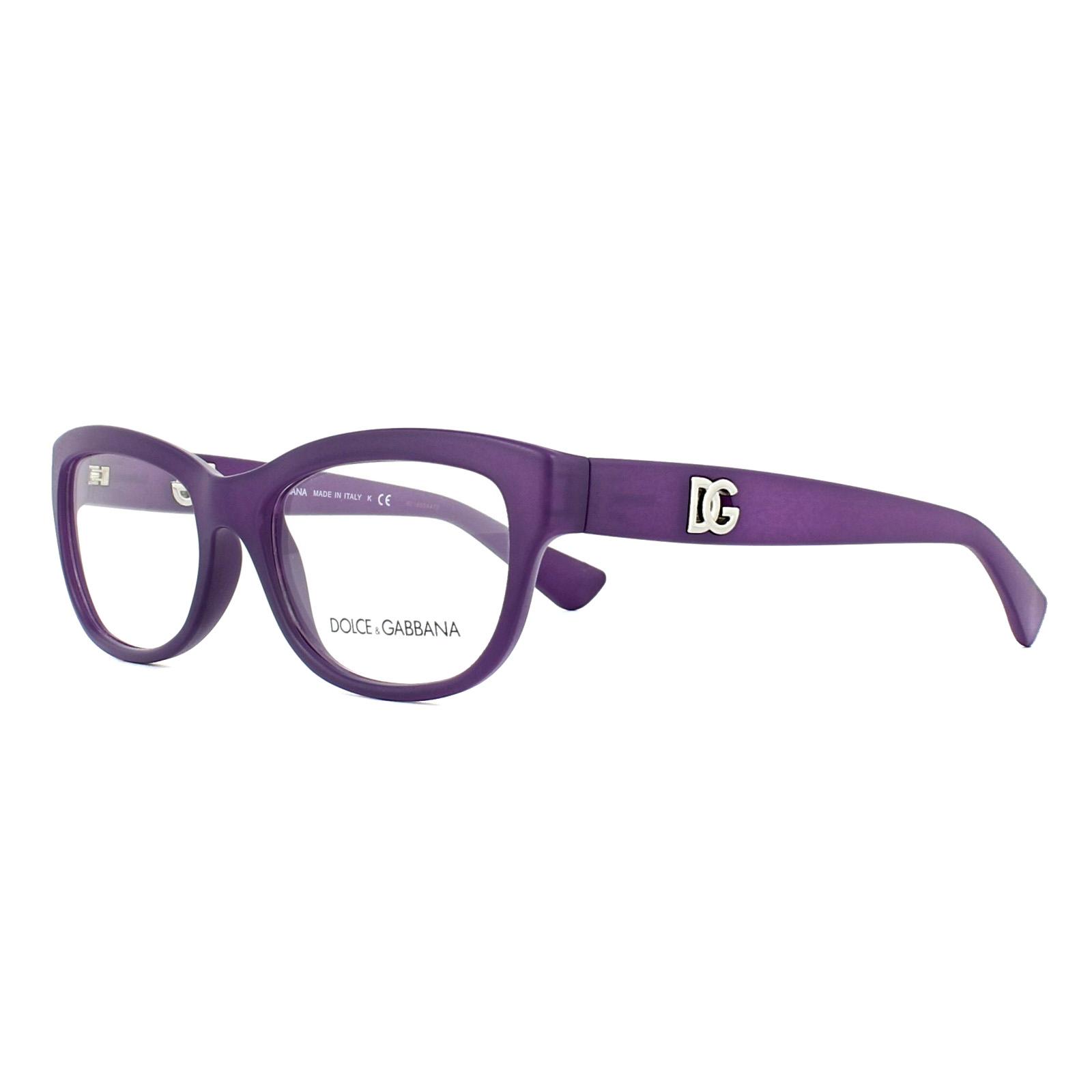 95e5a5c709 Details about Dolce   Gabbana Glasses Frames DG 5011 2677 Matt Opal Violet  54mm Womens