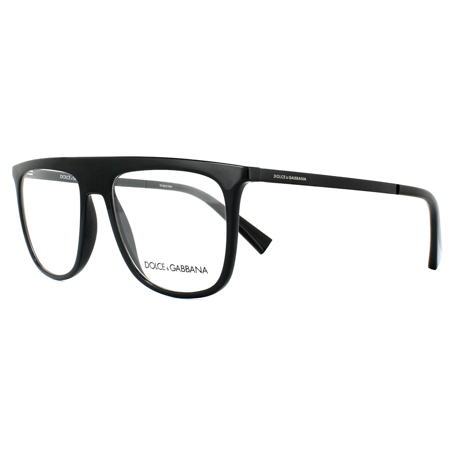 ba7cf36dfc Sentinel Dolce   Gabbana Glasses Frames DG 5022 501 Black 53mm Mens
