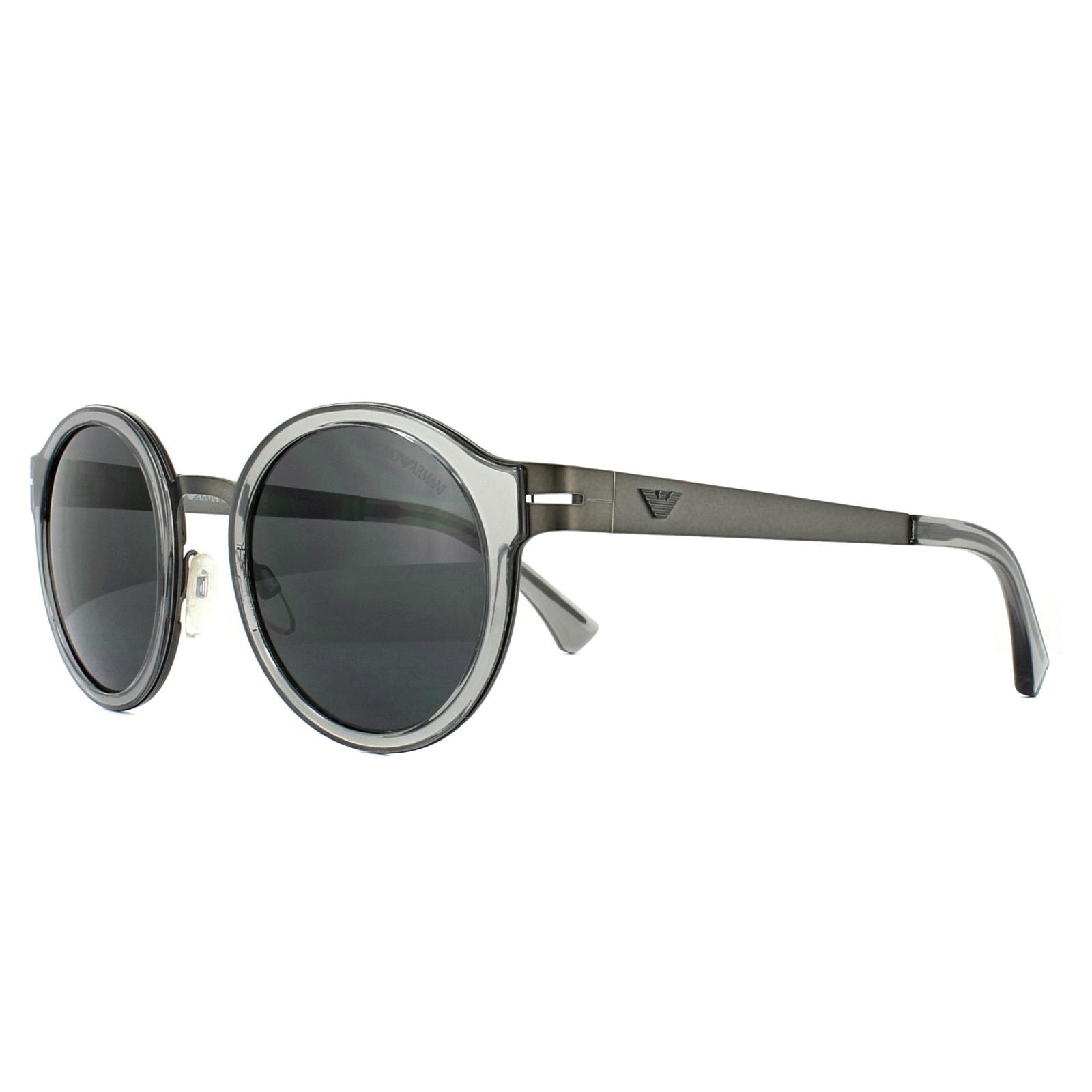 11eb0c0c2039 Sentinel Emporio Armani Sunglasses 2029 300387 Matt Gunmetal Grey
