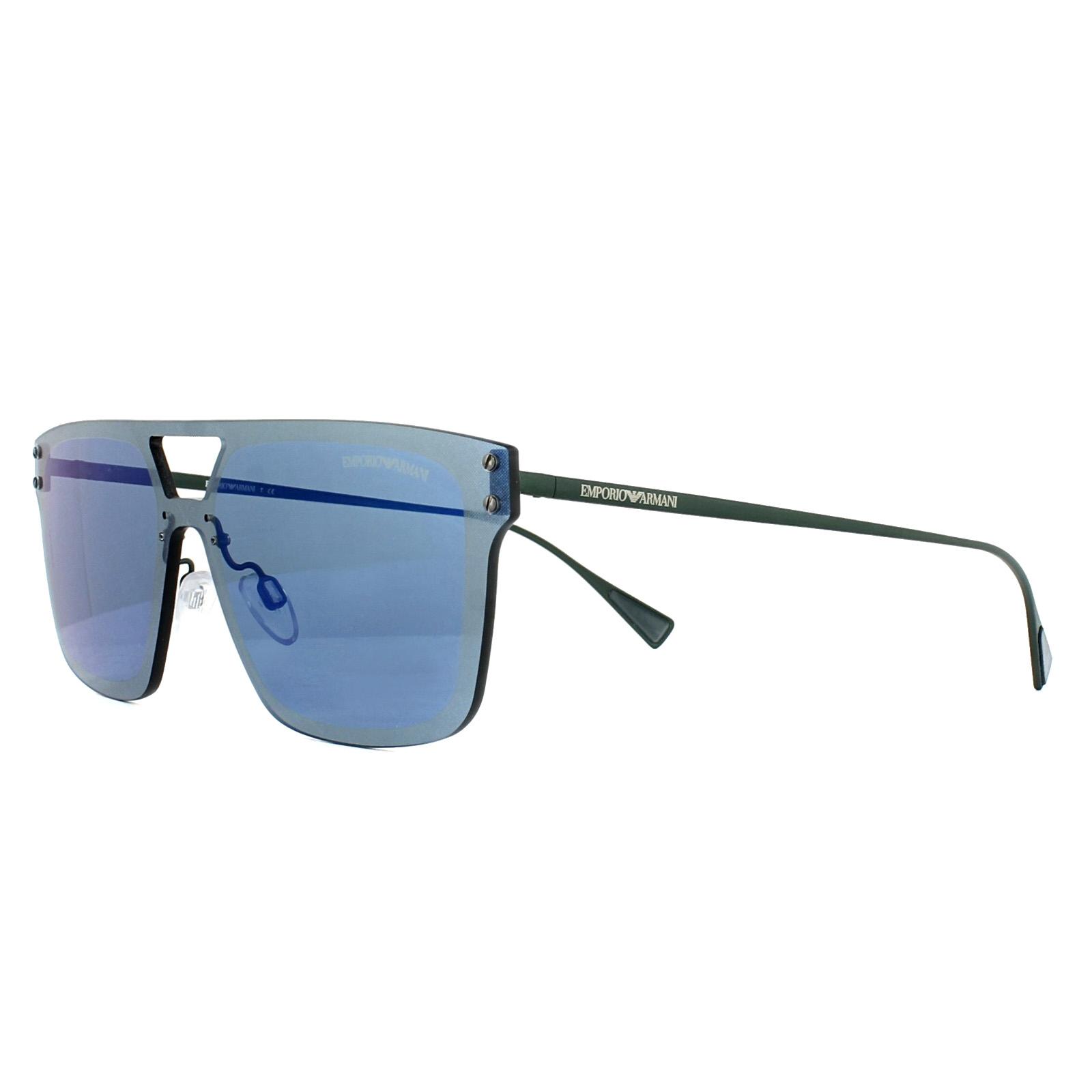 172e242b1f7a Emporio Blue Matt 317355 2048 Green Sunglasses 8053672716511 Armani  fxYwqrfIp