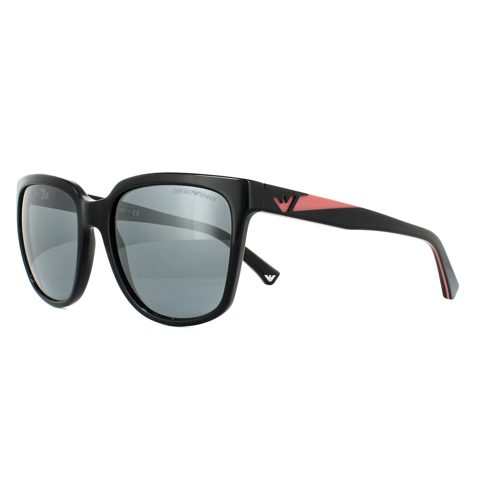 3256116dc1b Sentinel Emporio Armani Sunglasses 4070 50176G Black Grey Mirror