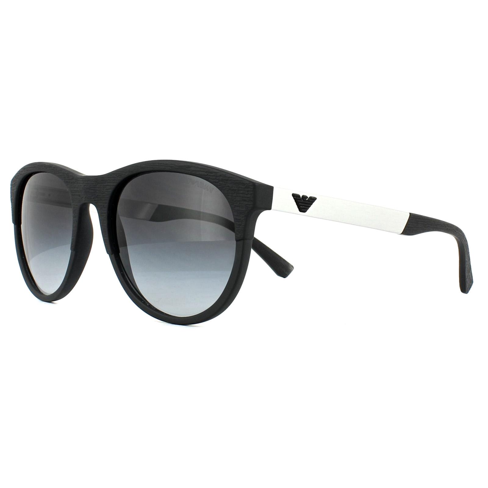 7b405e90c91 Sentinel Emporio Armani Sunglasses 4084 50428G Matt Black Grey Gradient