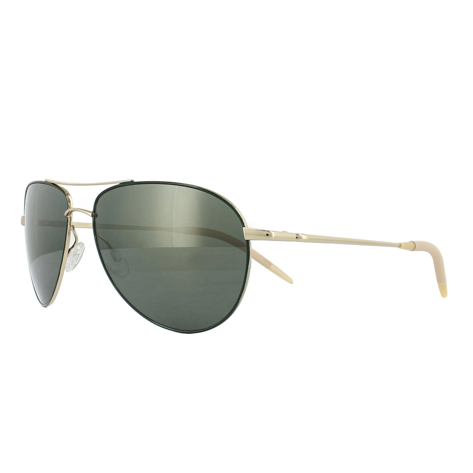 6c8f974c201 Sentinel Oliver Peoples Sunglasses Benedict 1002 5035O9 Gold Green G-15 VFX Polarized  59