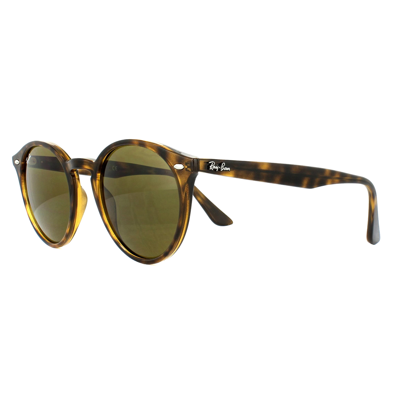 Sentinel Ray-Ban Sunglasses 2180 710/73 Tortoise Brown B-15 51mm