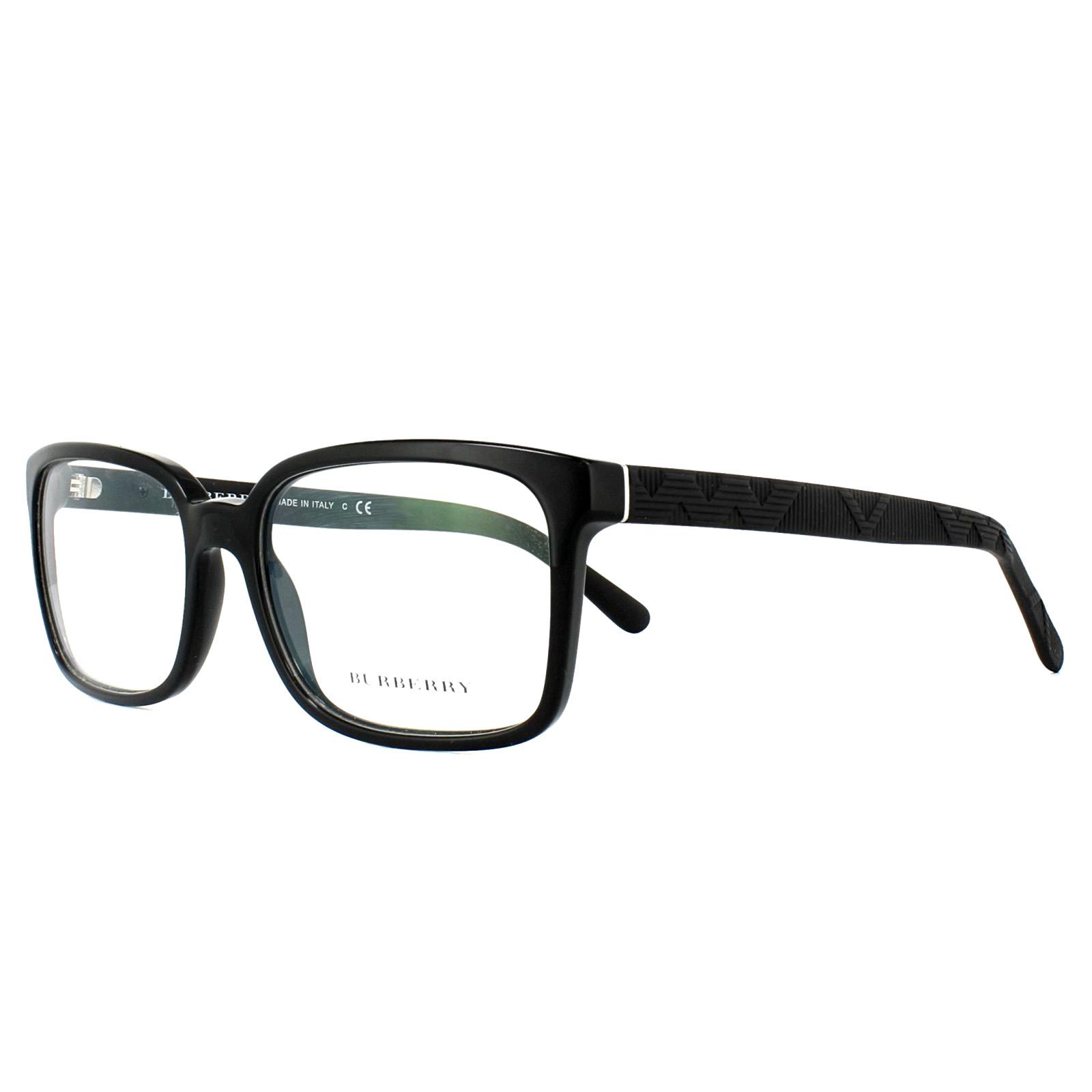 Burberry Glasses Frames BE2175 3001 Black 55mm Mens 8053672302394 | eBay