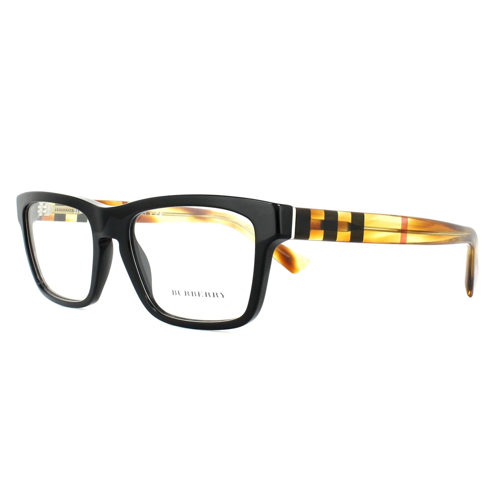 Burberry Glasses Frames BE2226 3604 Black Havana 53mm Mens | eBay