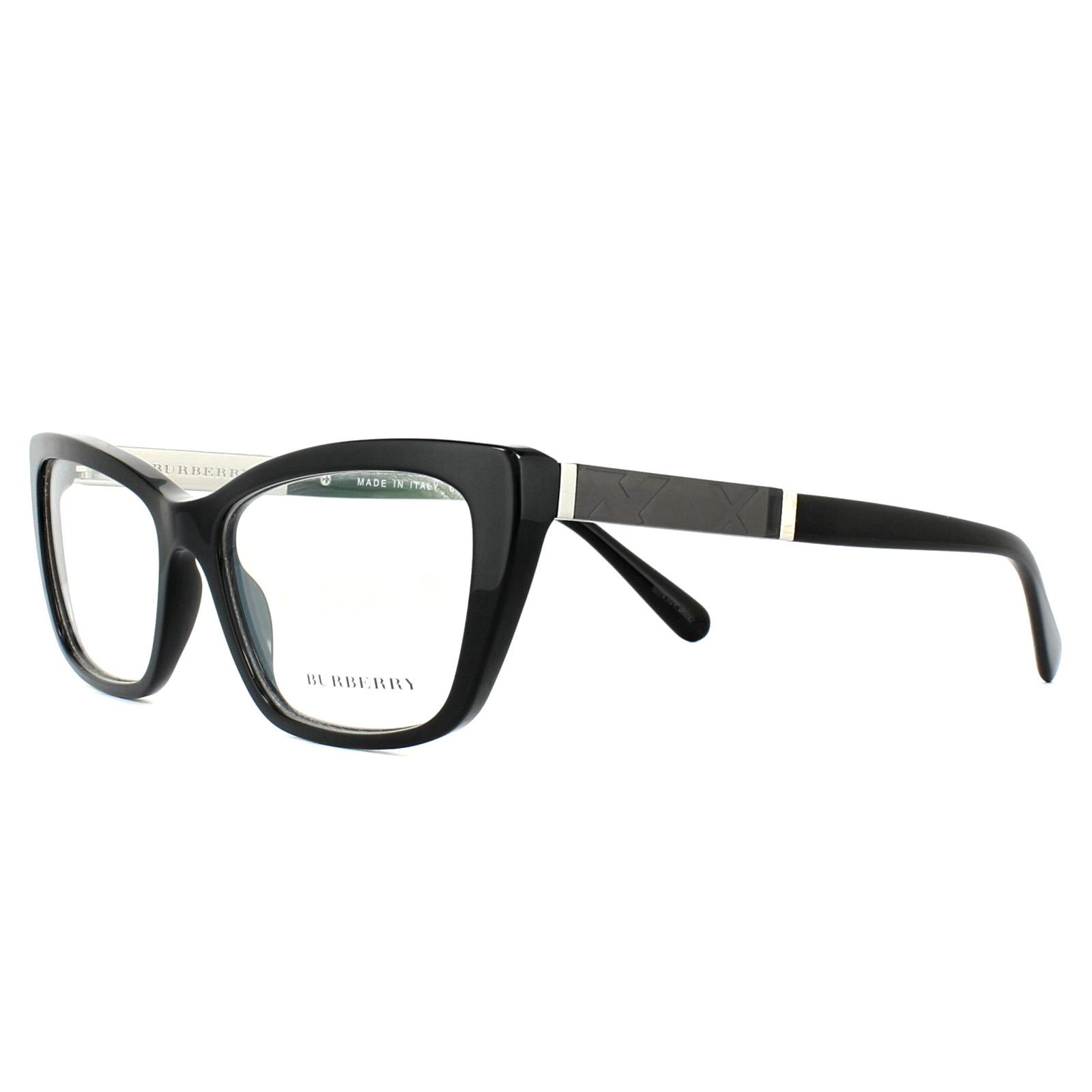 a26068724b5 Burberry Glasses Frames BE2236 3001 Black 54mm Womens 8053672592535 ...