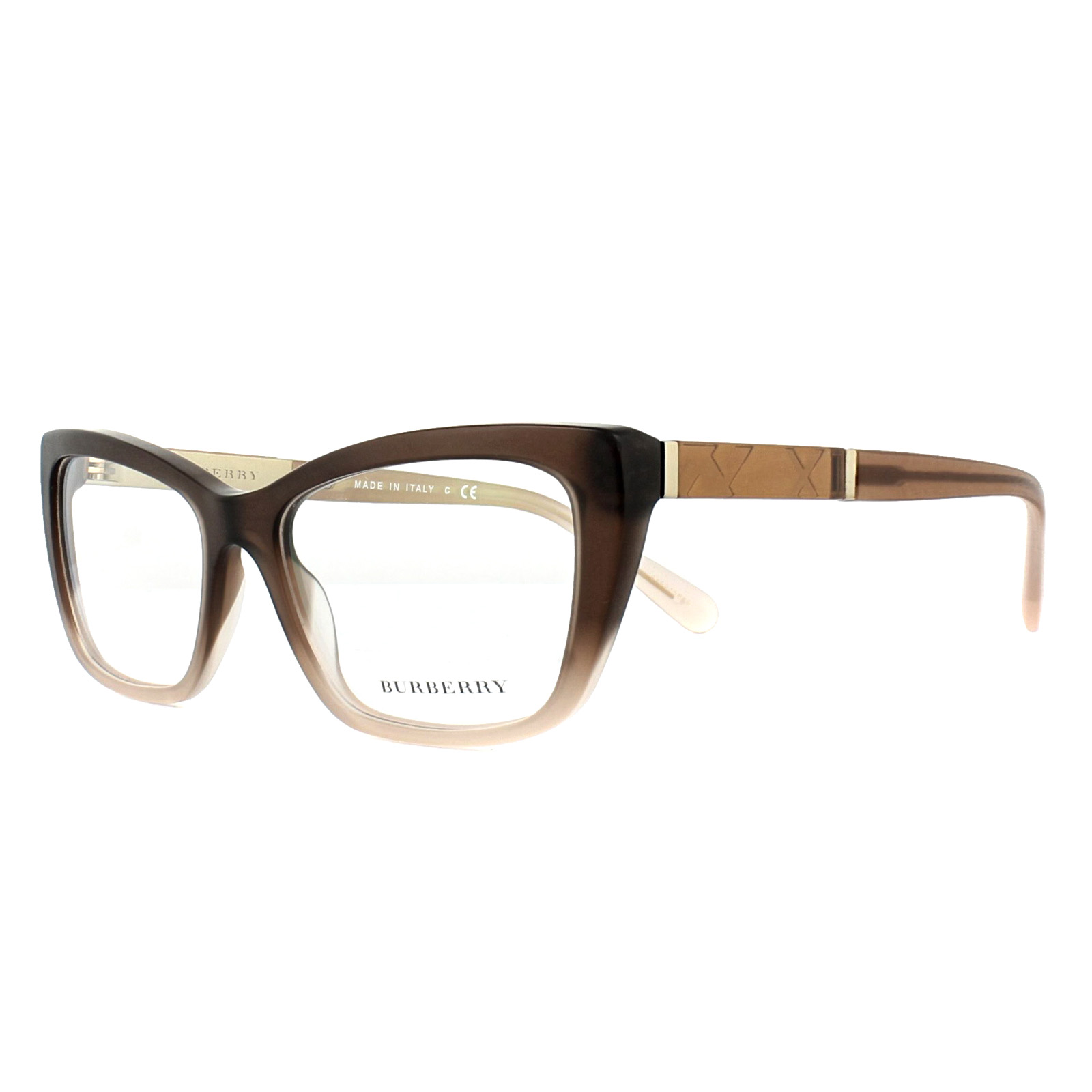 9f1f82d093 Sentinel Burberry Glasses Frames BE2236 3607 Brown Gradient Matt Pink 54mm  Womens