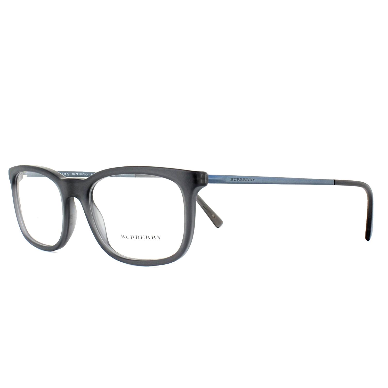 3e4d76cd3b3 Sentinel Burberry Glasses Frames BE2267 3693 Matt Grey 53mm Mens