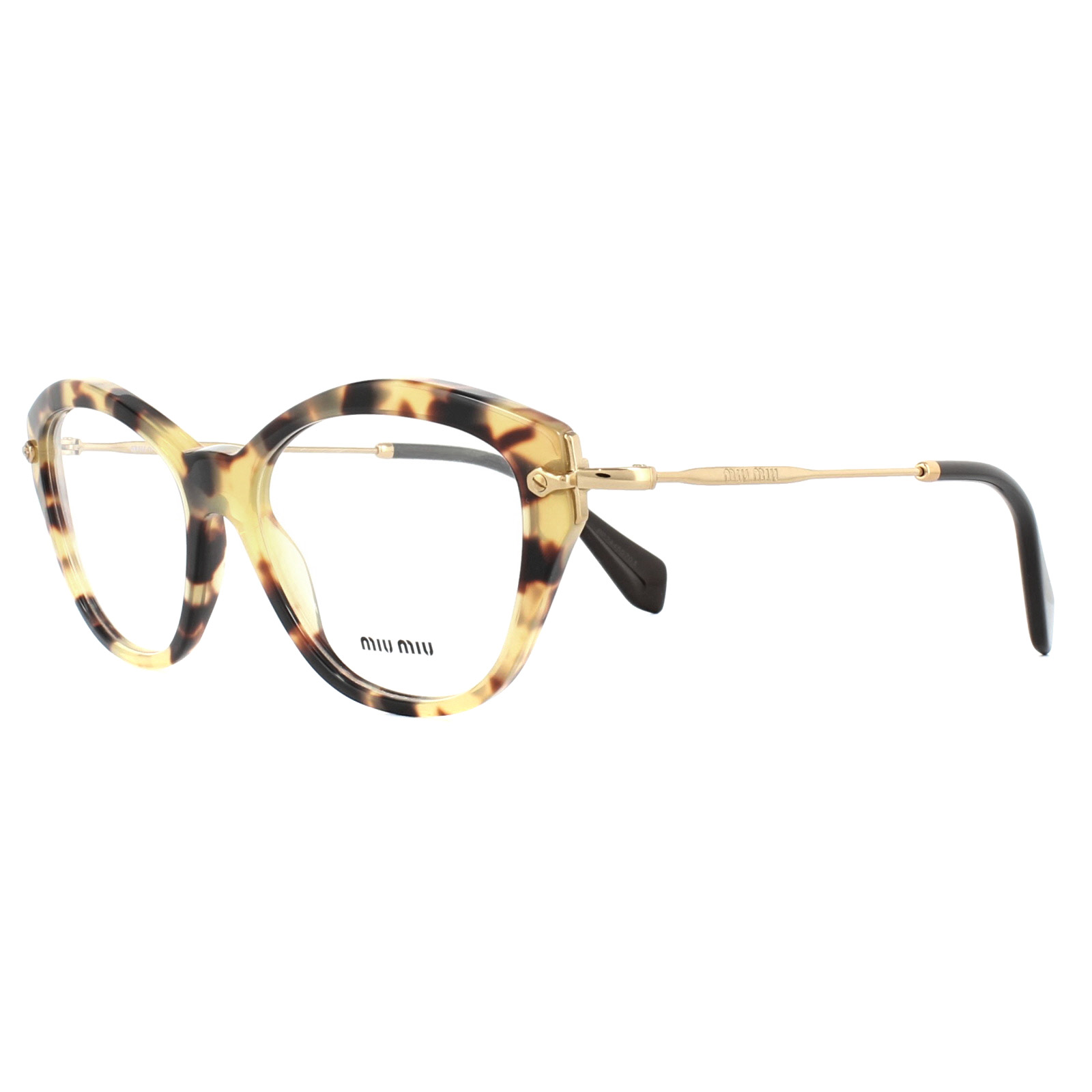 d930d971a95 Sentinel Miu Miu Glasses Frames MU02OV 7S01O1 Light Havana 54mm Womens