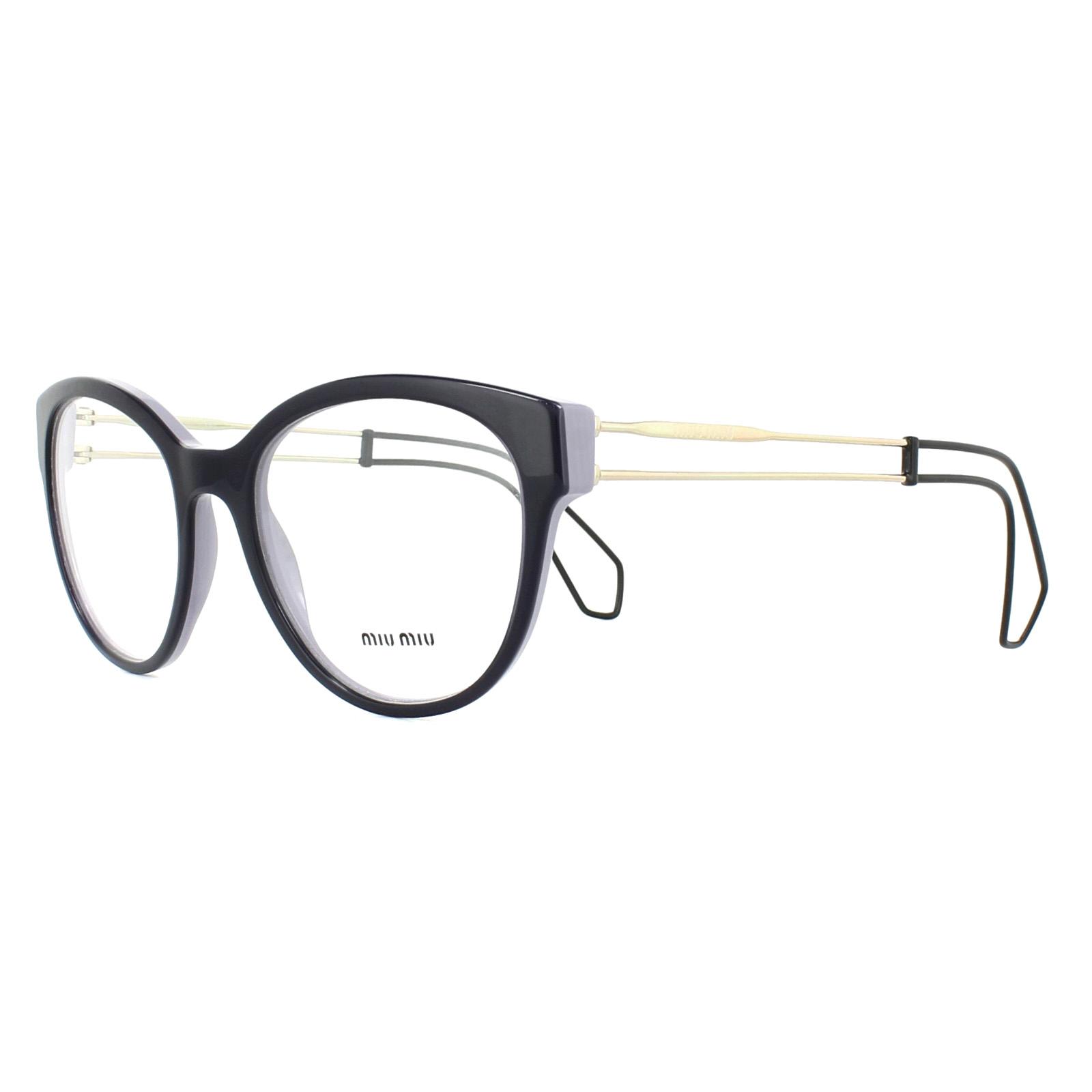 d80fc80a7ef Details about Miu Miu Glasses Frames MU03PV USN1O1 Lilac Top Violet 54mm  Womens