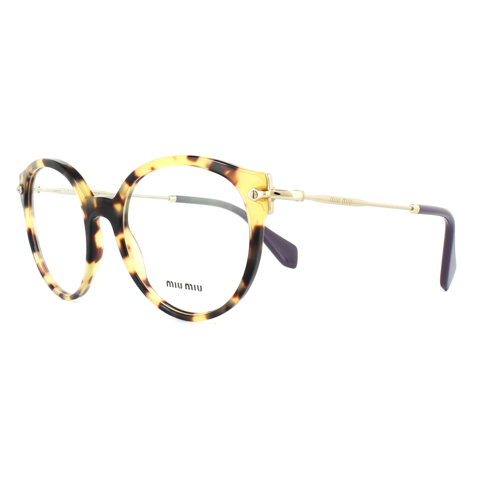 4f36f31d245 Sentinel Miu Miu Glasses Frames MU04PV 7S01O1 Light Havana 52mm Womens
