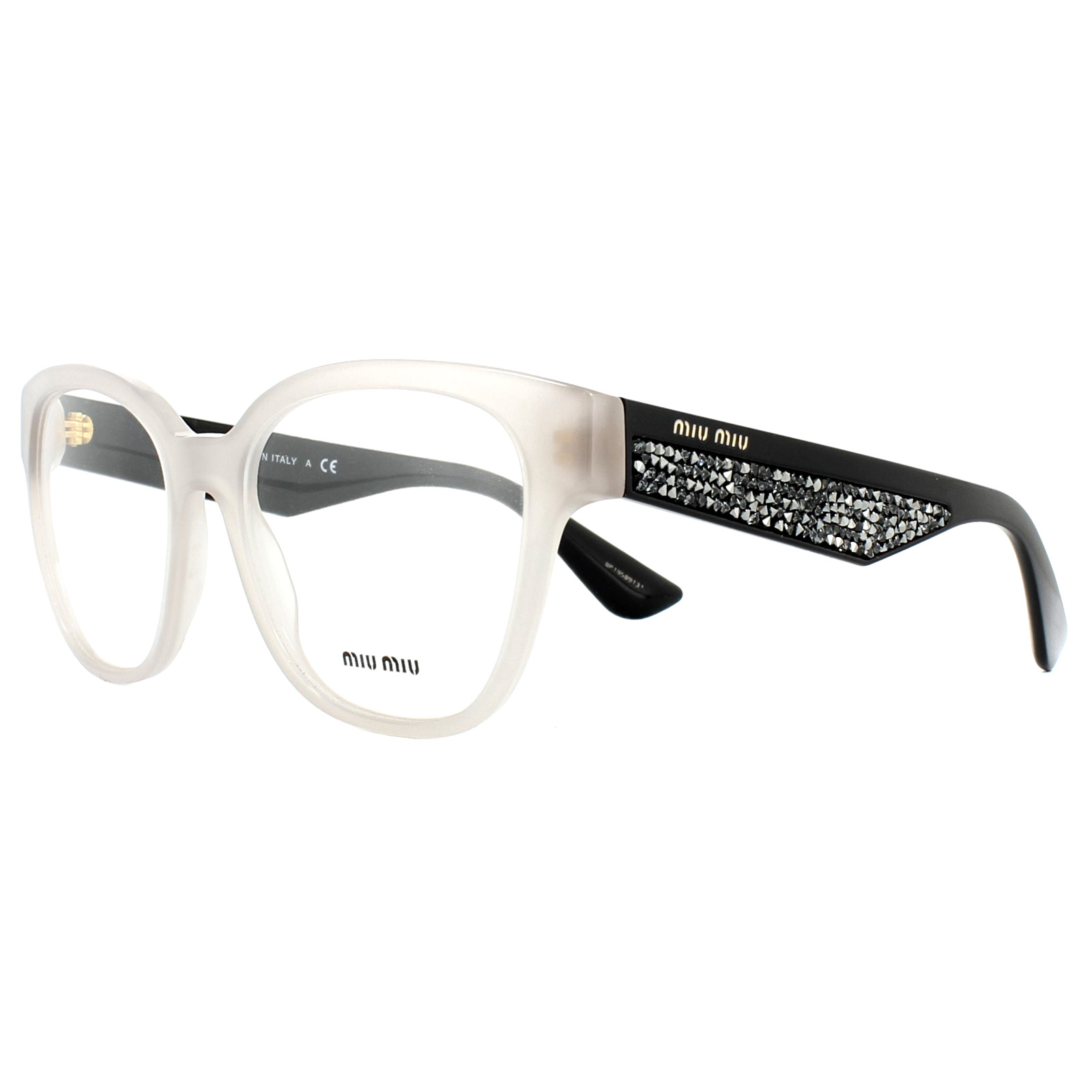 348832a2c0f Sentinel Miu Miu Glasses Frames MU06OV UE21O1 Opal Argil 52mm Womens