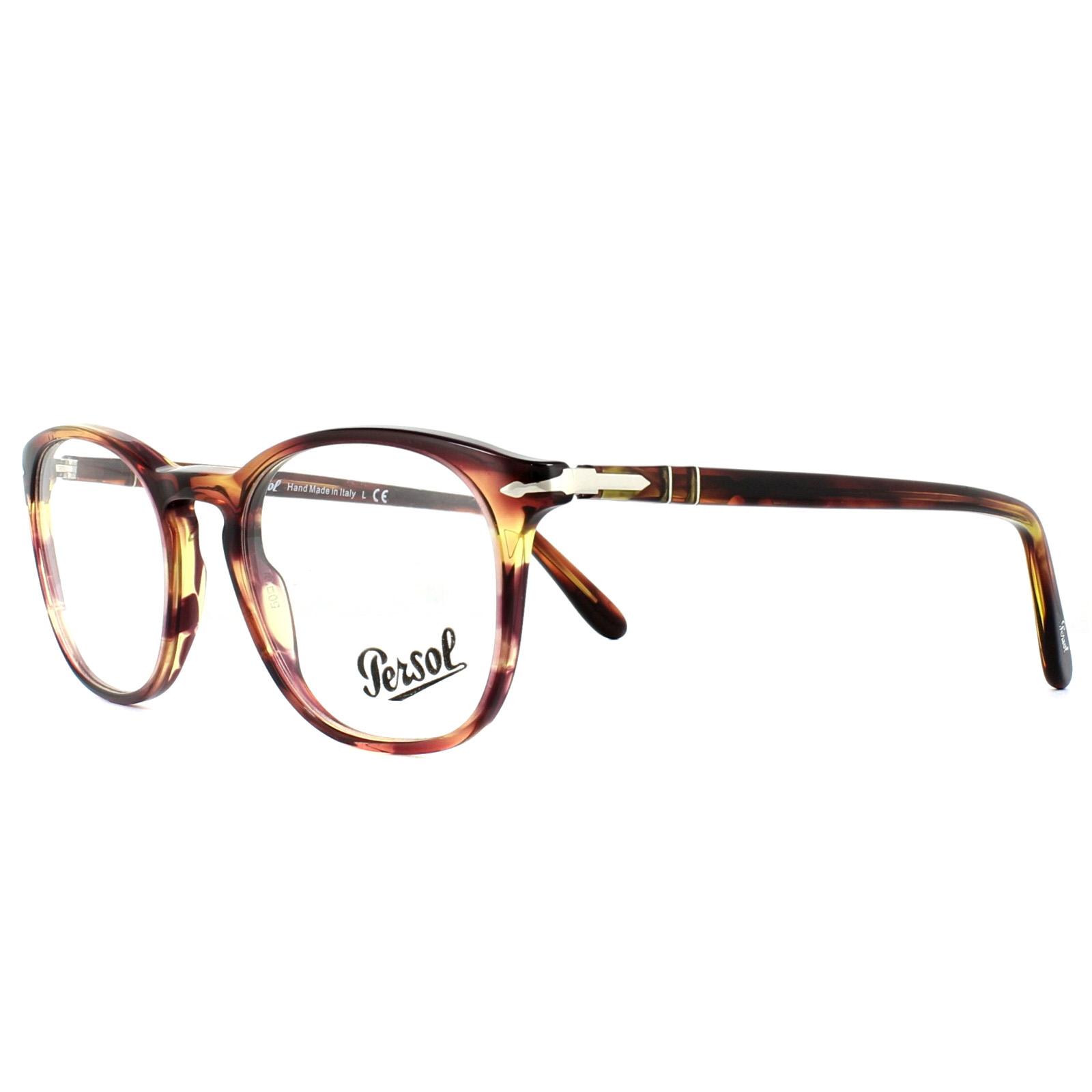 064af40a273 Details about Persol Glasses Frames PO3007V 1055 Brown Violet Tortoise 50mm  Mens