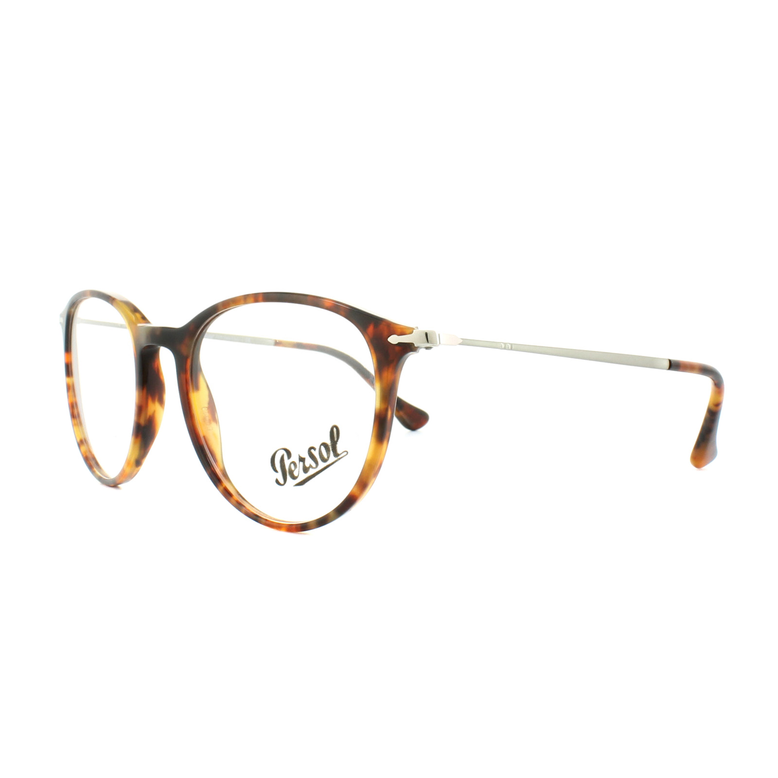bf86314ad42 Sentinel Persol Glasses Frames PO3147V 108 Light Havana 48mm Mens