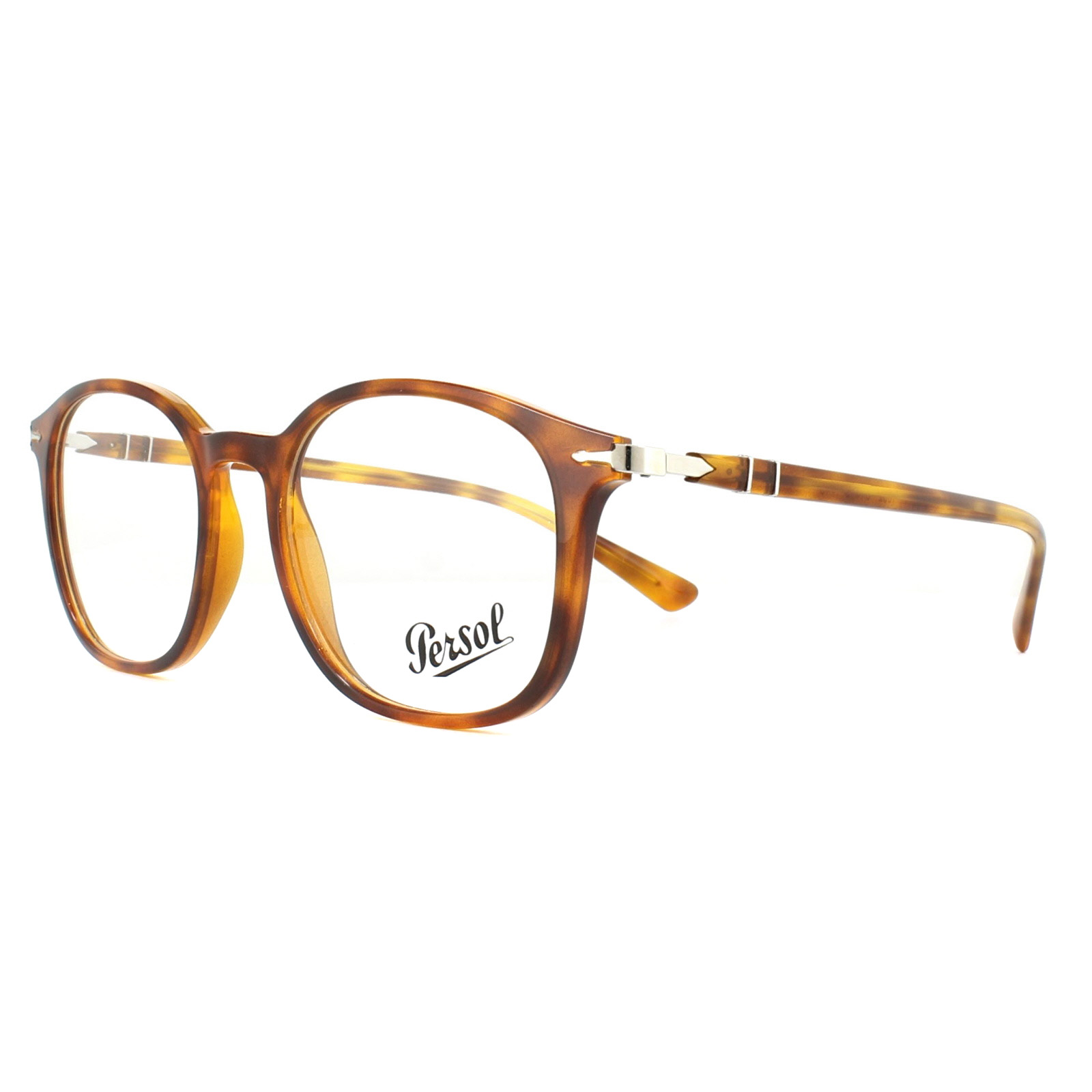 764f90e9fda15 Sentinel Persol Glasses Frames PO3182V 1052 Brown Beige Tortoise 51mm Mens