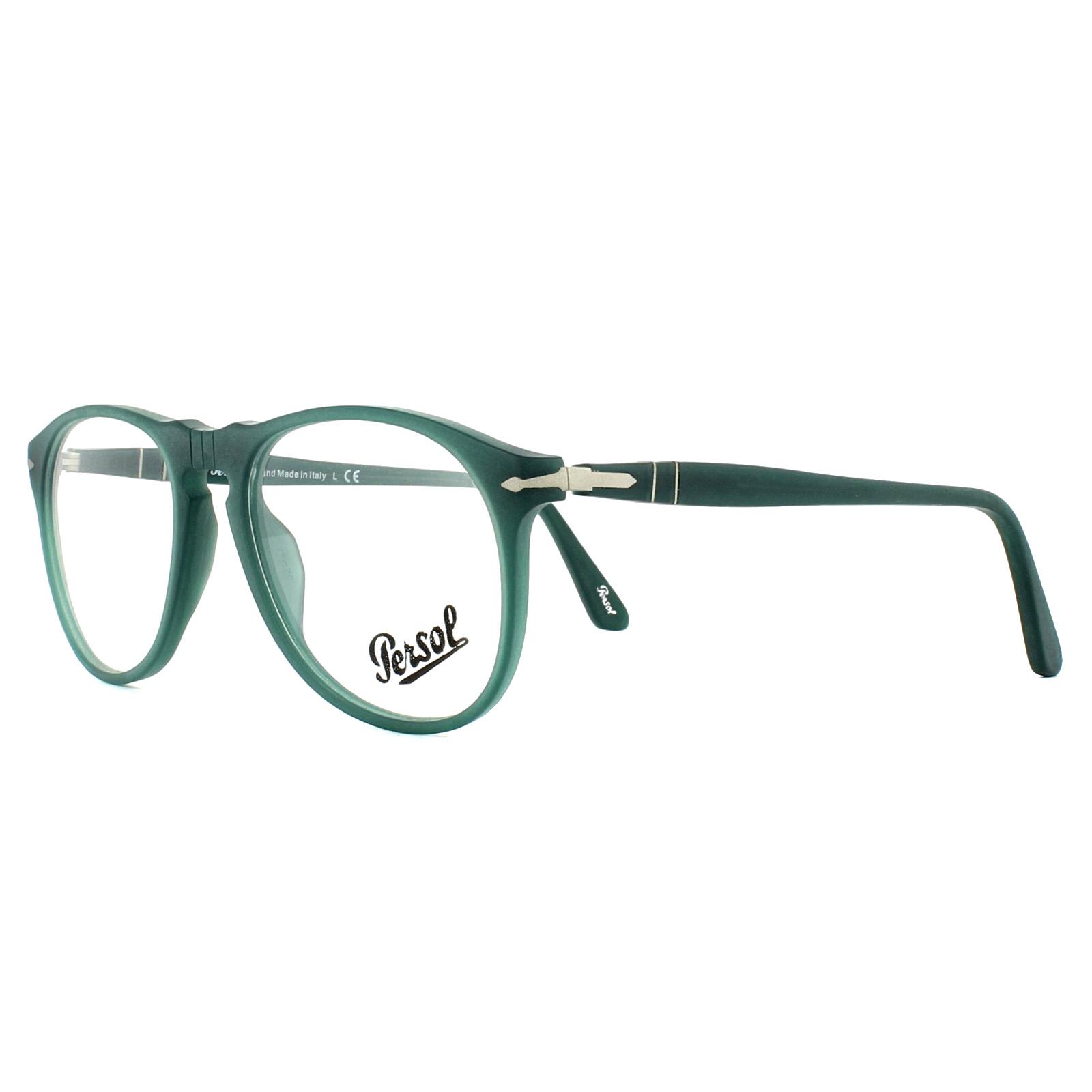 f06e6f7f15 Persol Glasses Frames PO9649V 9019 Ossidiana 52mm Mens 8053672246759 ...