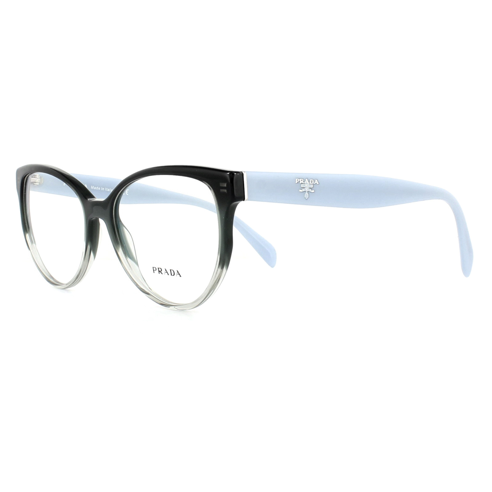 8ec57534e14 Sentinel Prada Glasses Frames PR01UV VX41O1 Gradient Grey 54mm Womens