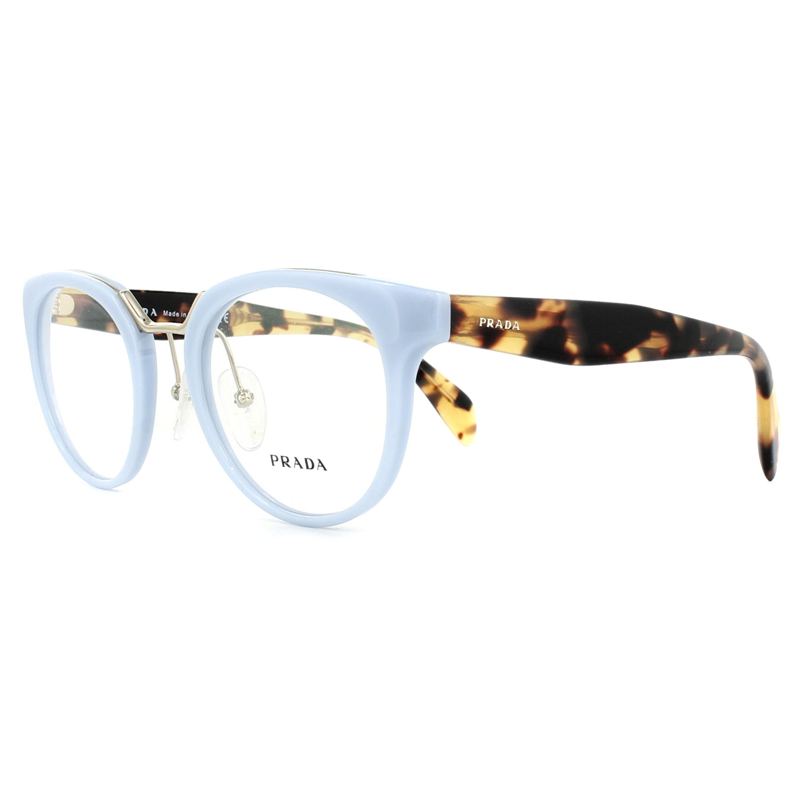 6244c4ea36 Prada Glasses Frames PR03UV VX71O1 Azure 49mm Womens 8053672781779 ...