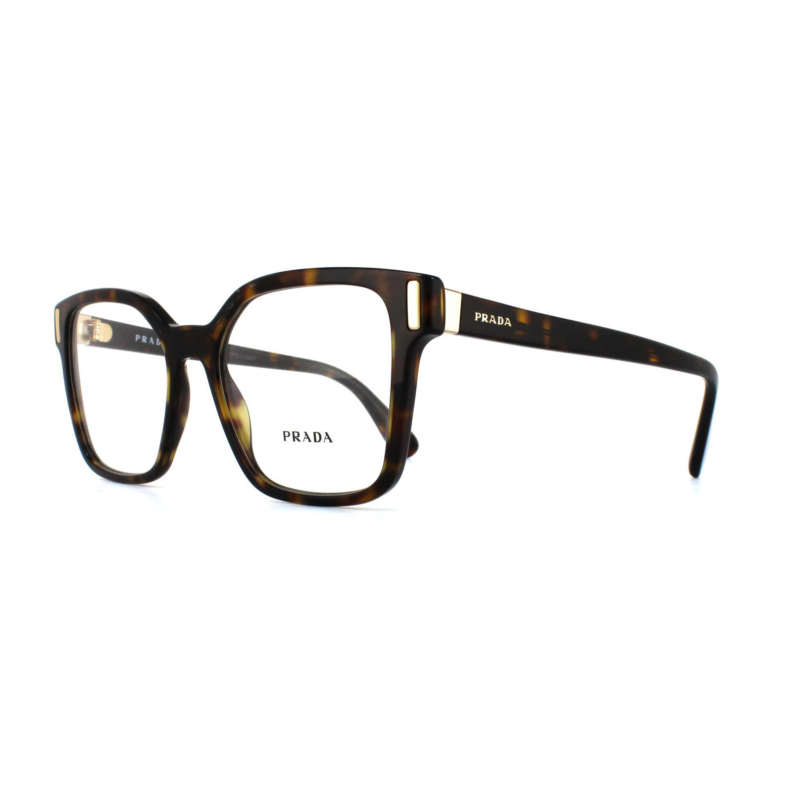 9228d0949b4 Prada Glasses Frames PR05TV 2AU1O1 Havana 50mm Womens 8053672620153 ...