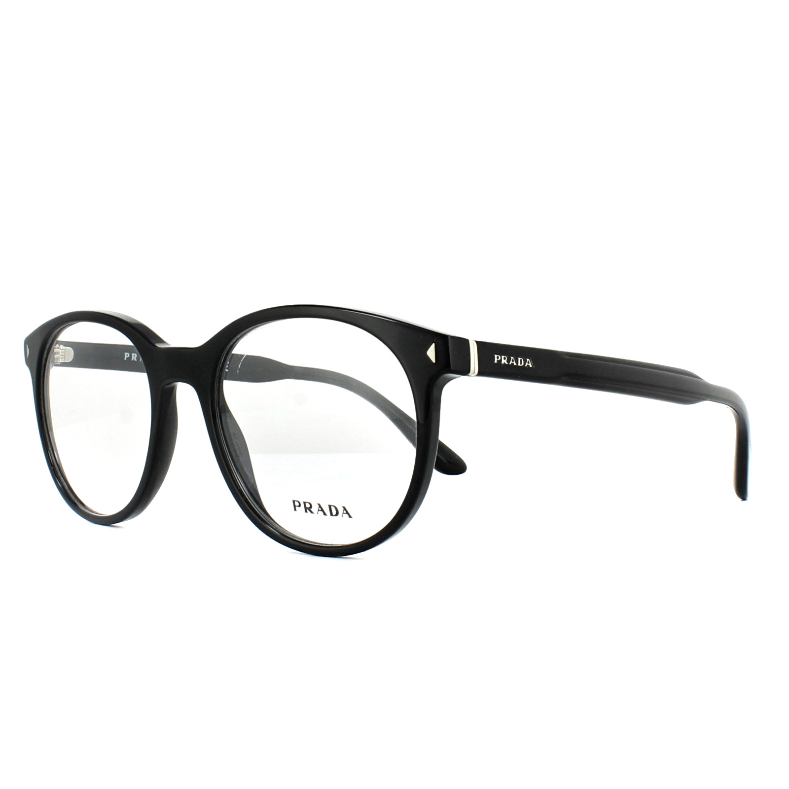 4a2c9176687 Prada Glasses Frames PR14TV 1AB1O1 Black 52mm Mens 8053672674088