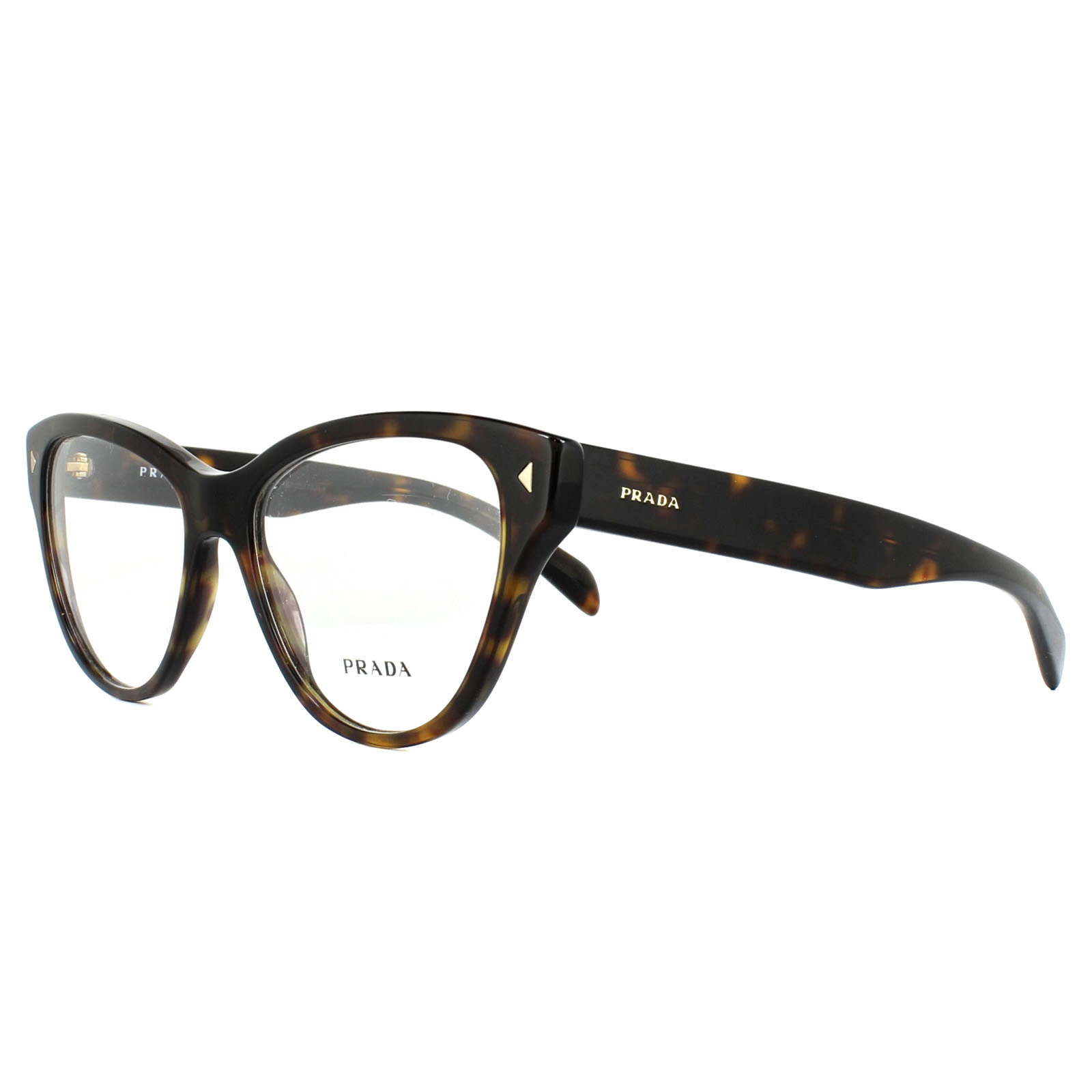 245063cac4a2 Prada Glasses Frames PR23SV 2AU1O1 Havana 54mm Womens 8053672507157 ...