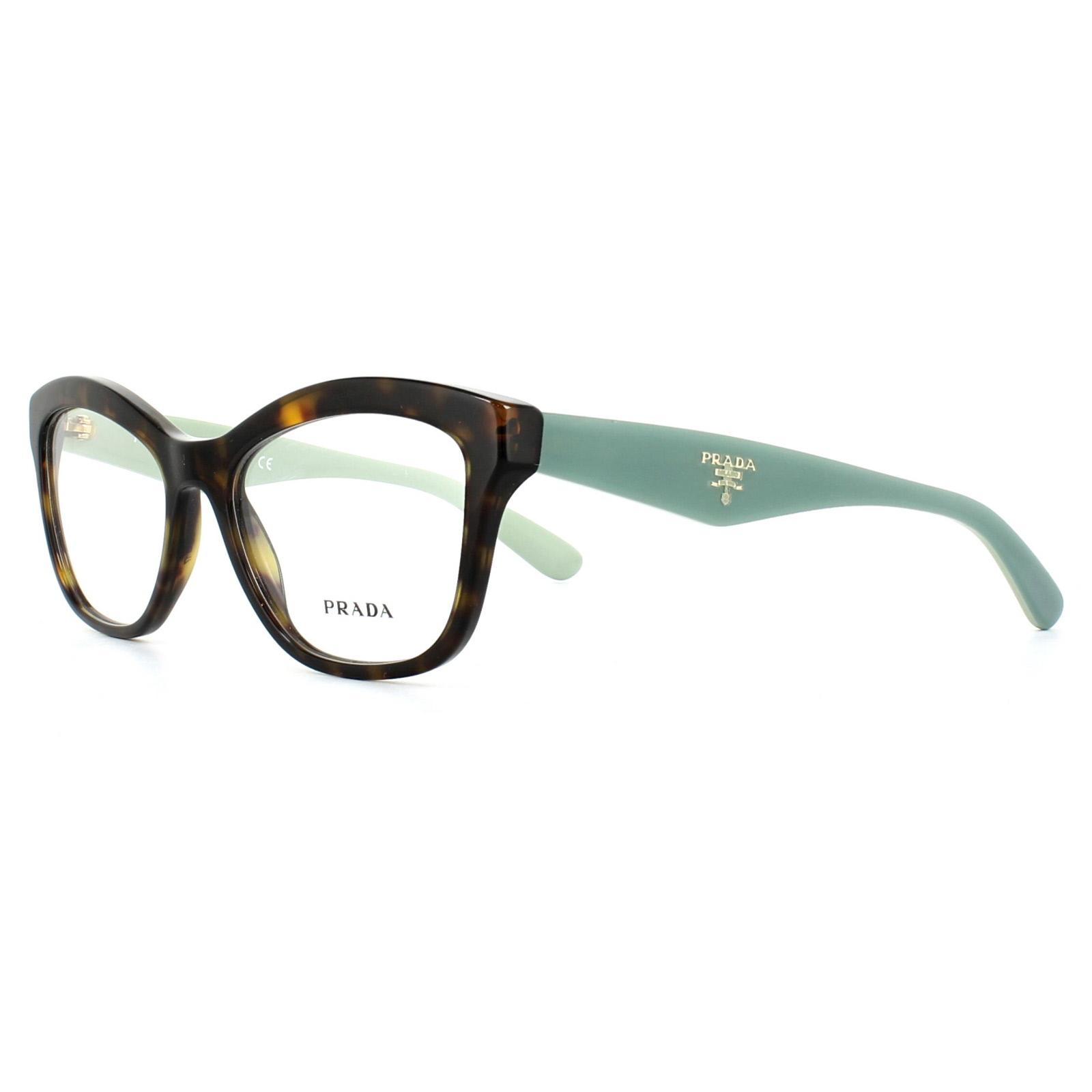 f8061c5ea4173 Prada Glasses Frames PR29RV 2AU1O1 Havana 52mm Womens 8053672384147 ...