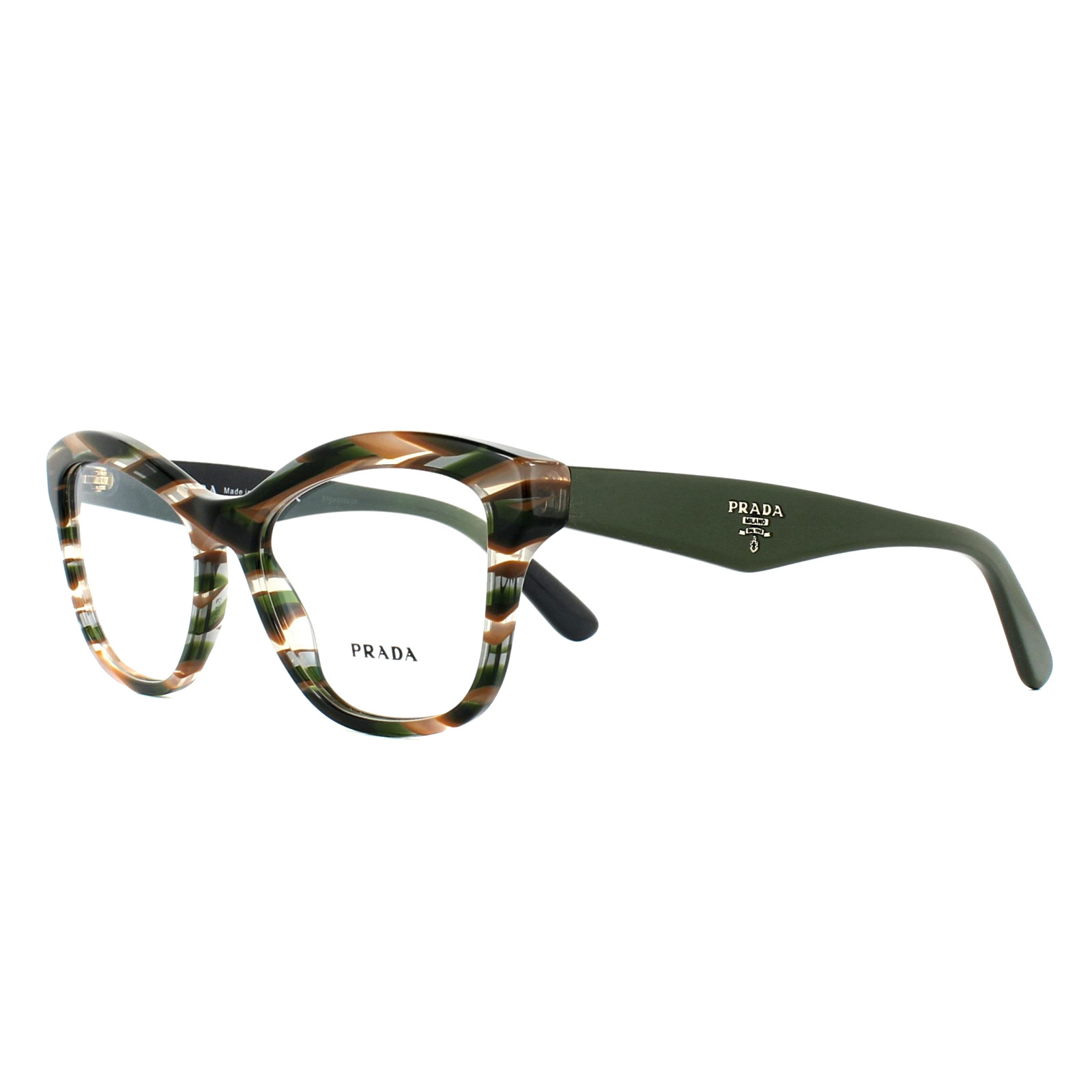 4e522eef6e Sentinel Prada Glasses Frames PR29RV VAO1O1 Sheaves Grey Brown 54mm Womens