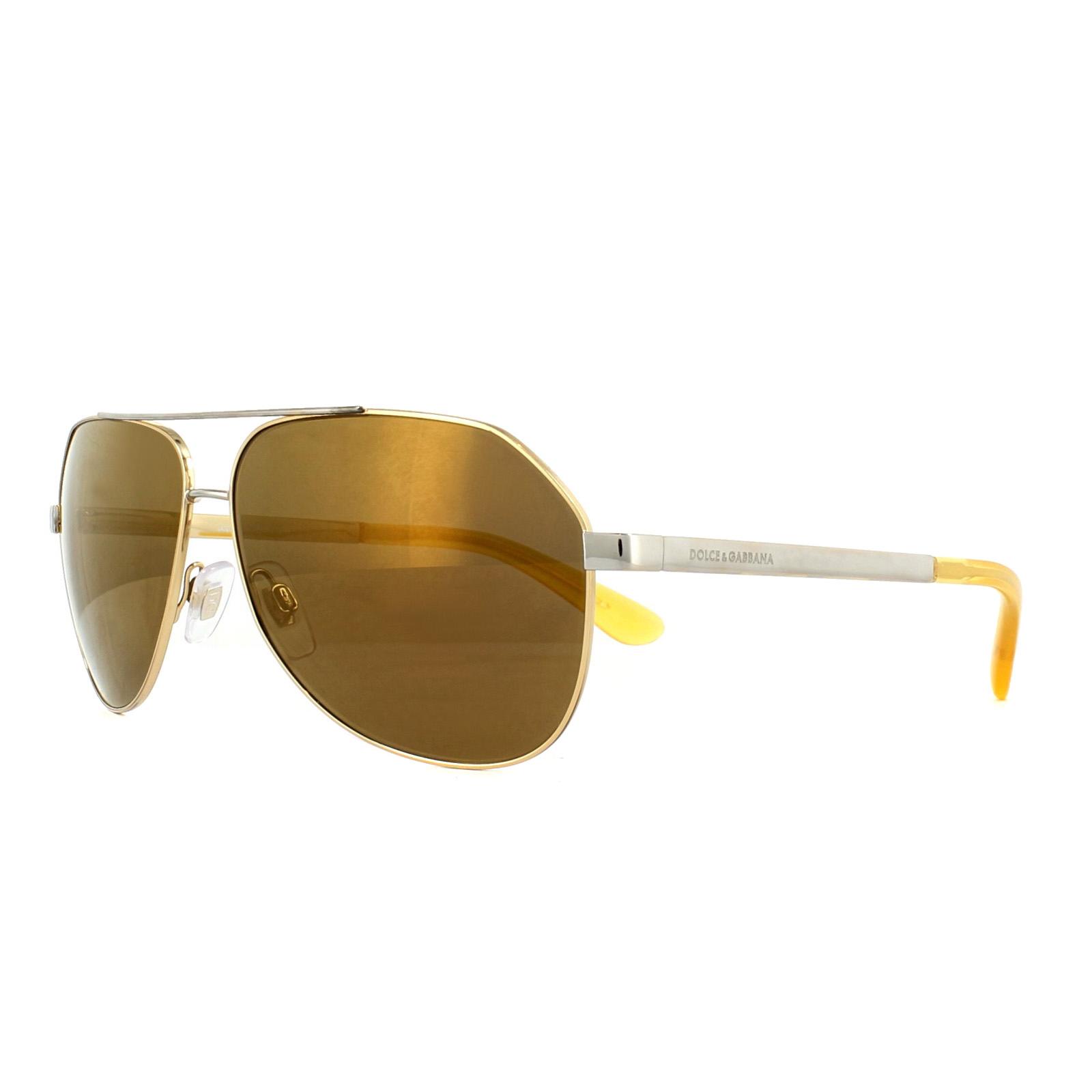 0bf94004ac5 Dolce   Gabbana Sunglasses 2144 02 N0 Gold 24K Iridium 8053672697315 ...