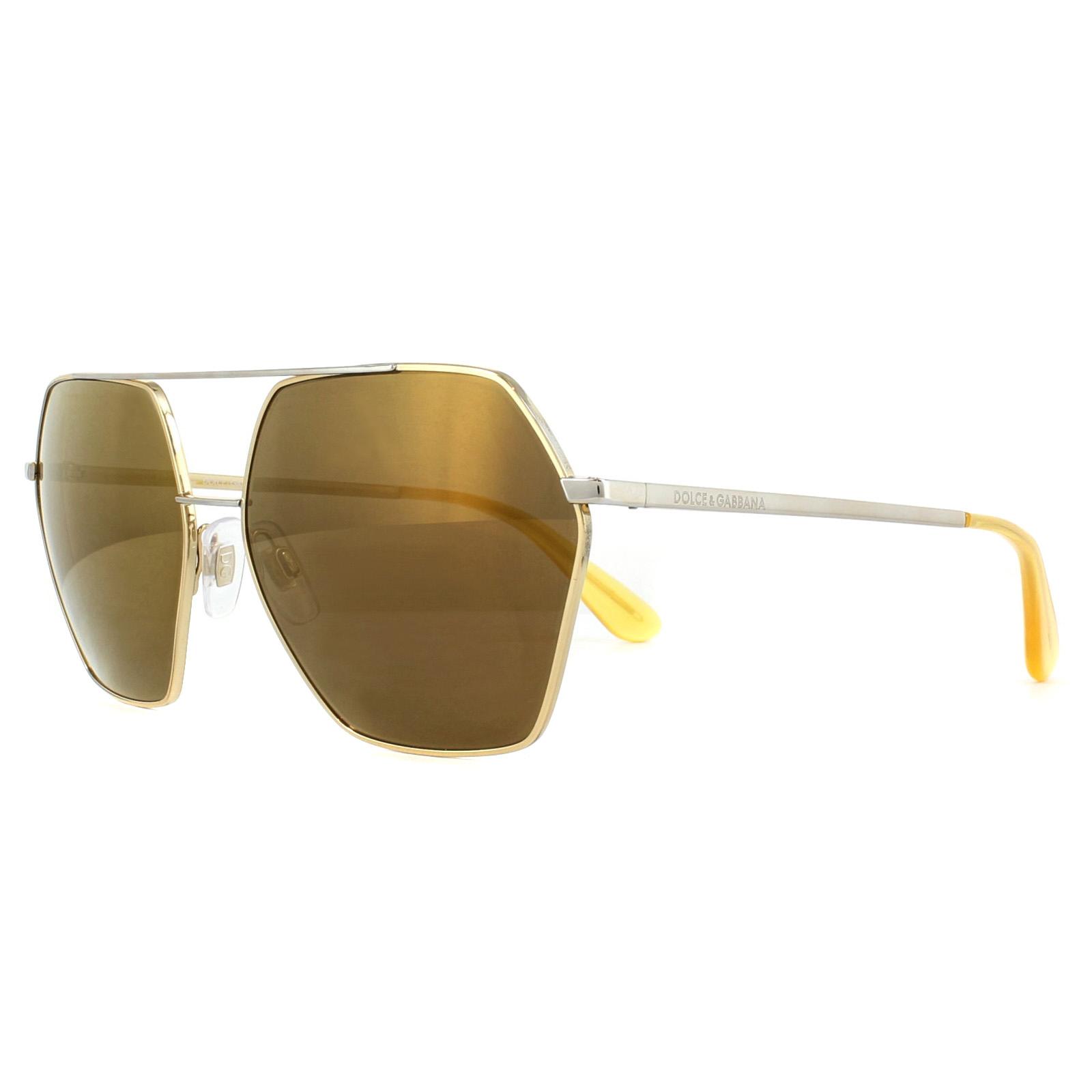 a809f84f040 Dolce   Gabbana Sunglasses 2157 02-N0 Gold 24K Iridium 8053672697360 ...