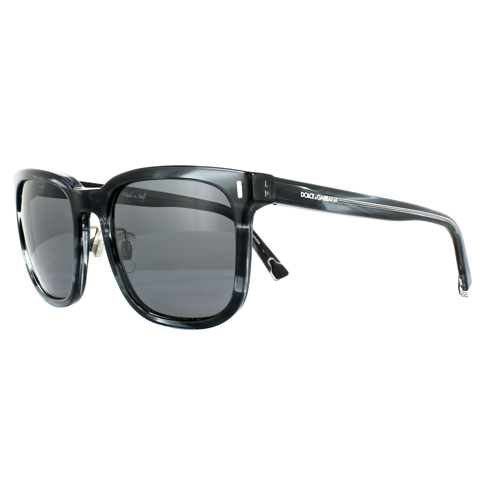 a11401abfc0c Sentinel Dolce & Gabbana Sunglasses 4271 292481 Striped Anthracite Grey  Polarized