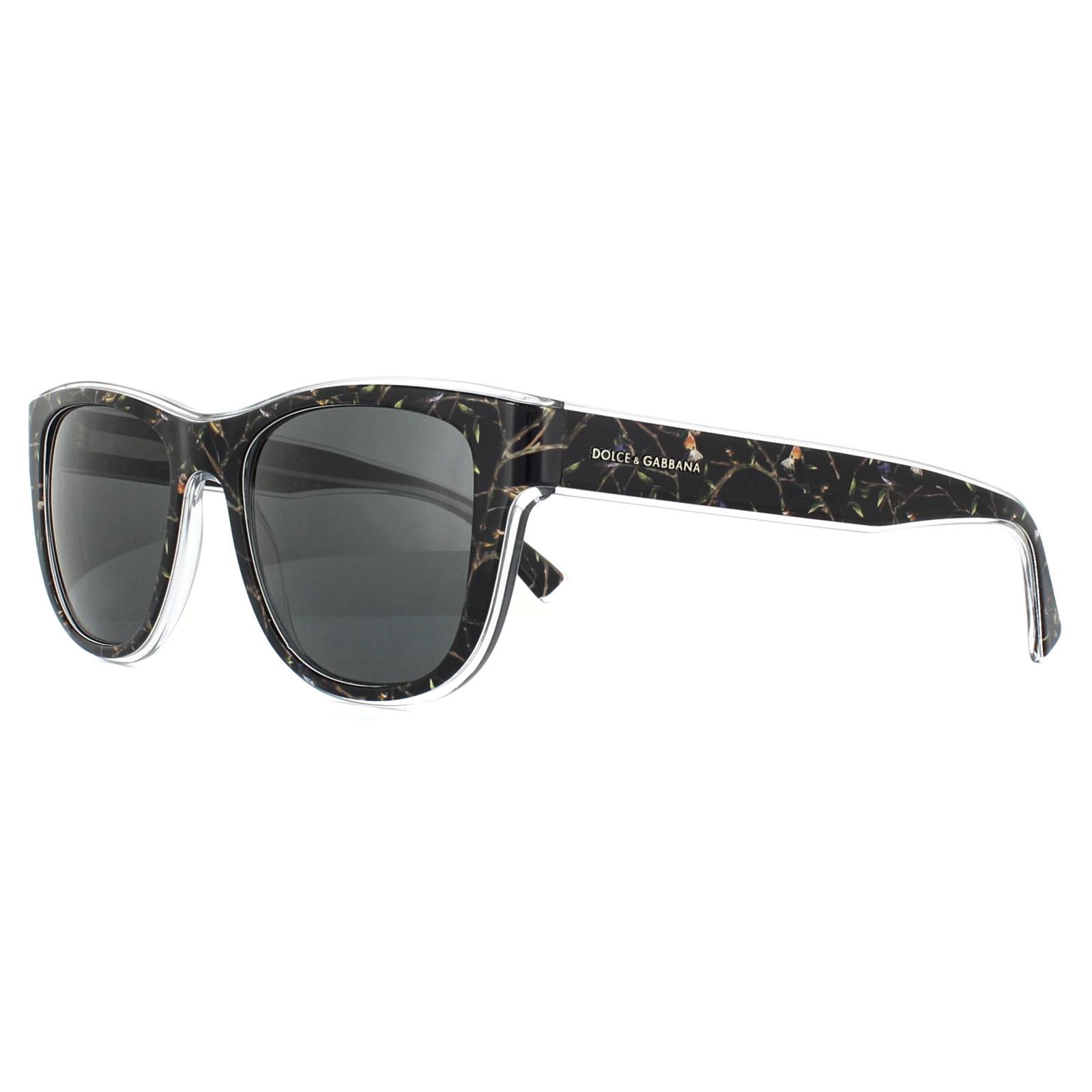 6d66206ba424 Sentinel Dolce   Gabbana Sunglasses 4284 305387 Black Birds Grey