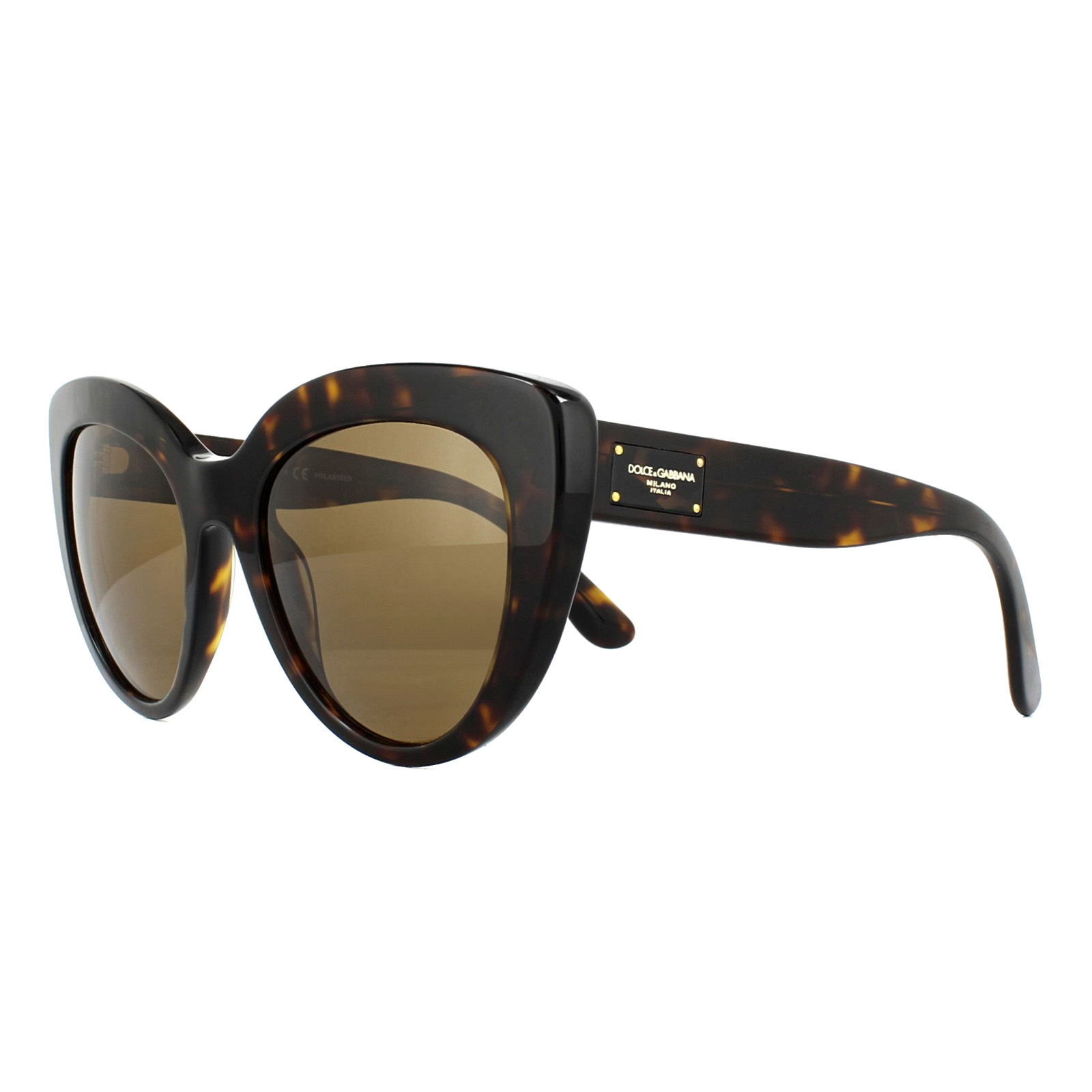 a50e4062b5c2 Details about Dolce & Gabbana Sunglasses 4287 502-83 Havana Brown Polarized