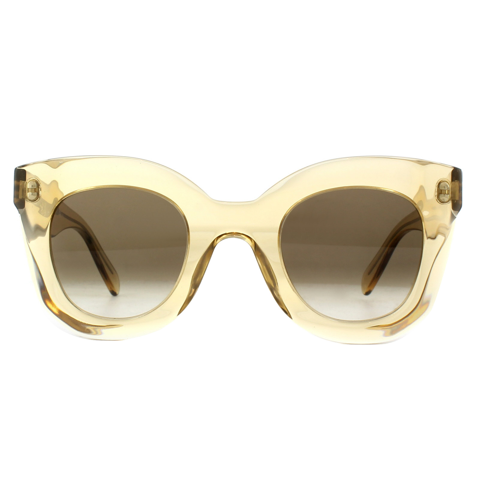 2e334799e3b Sentinel Celine Sunglasses 41393 S Baby Marta HAM X9 Clear Champagne Brown  Gradient