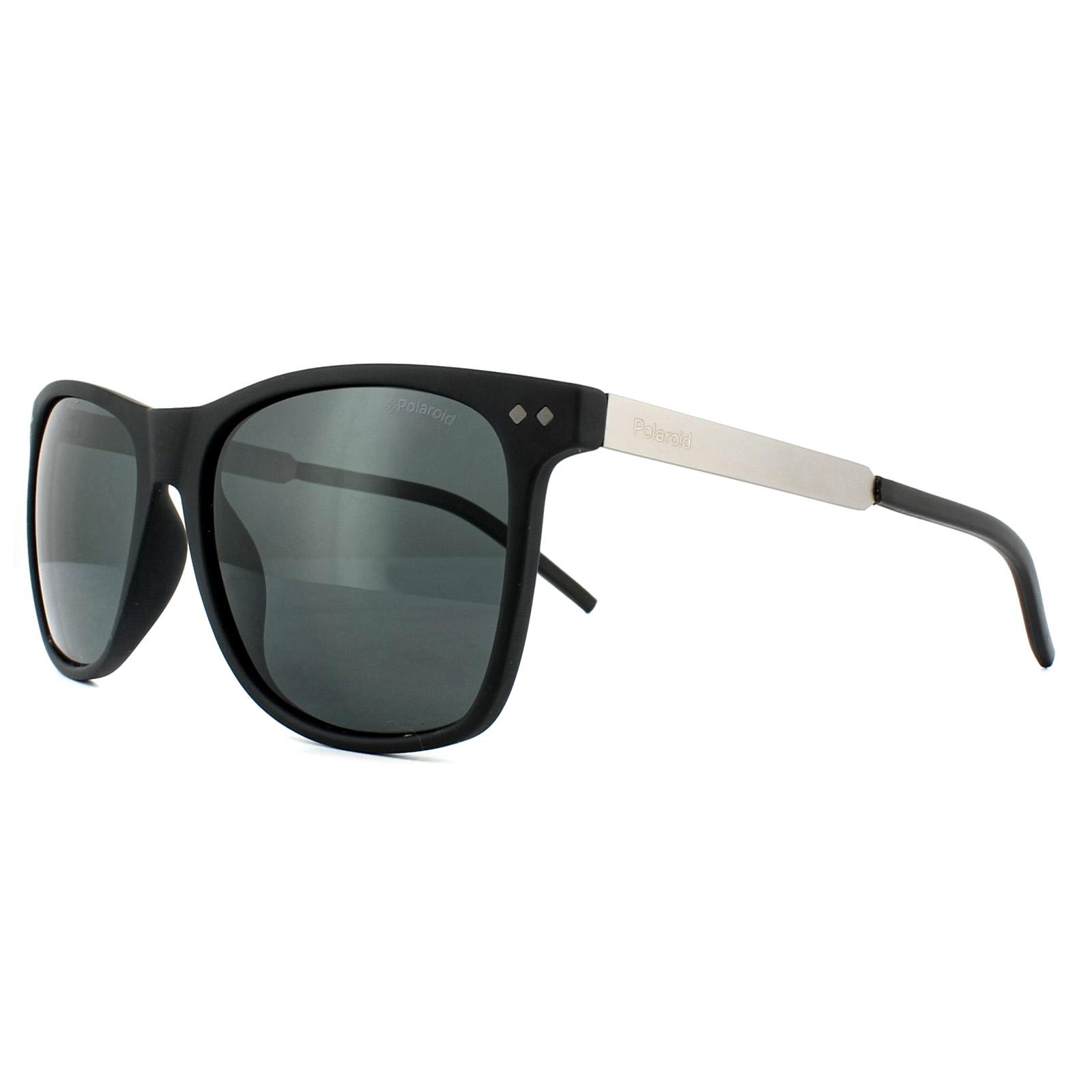 Sentinel Polaroid Sunglasses PLD 1028 S 003 M9 Matt Black Grey Polarized c268b697908c